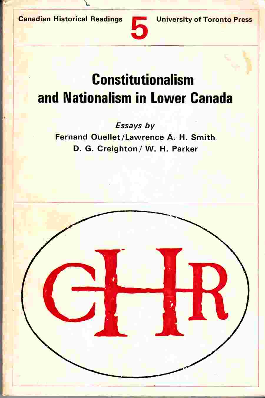 Image for Constitutionalism and Nationalism in Lower Canada