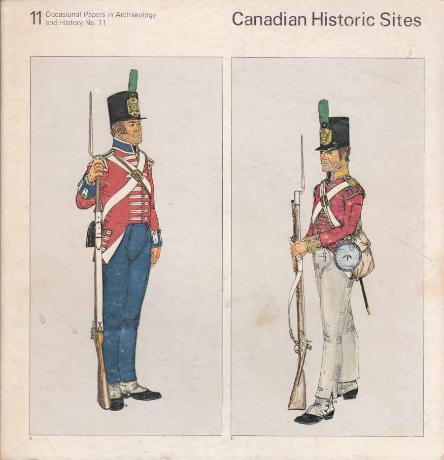 Image for Canadian Historic Sites:  Occasional Papers in Archaeology and History No. 11