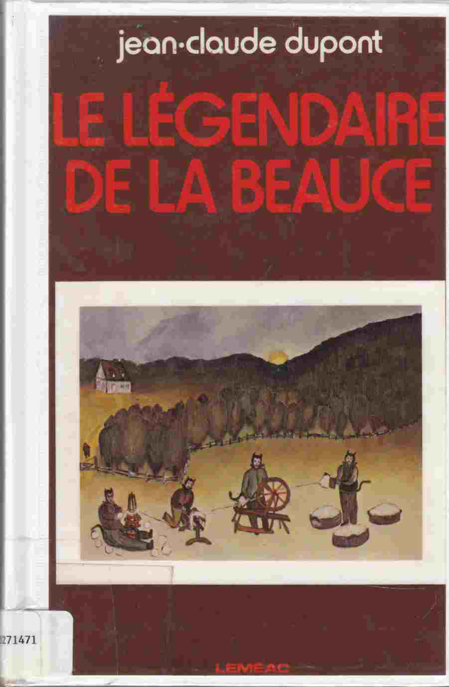 Image for La Legendaire De La Beauce