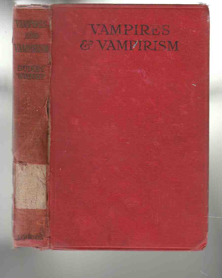 Image for Vampires and Vampirism