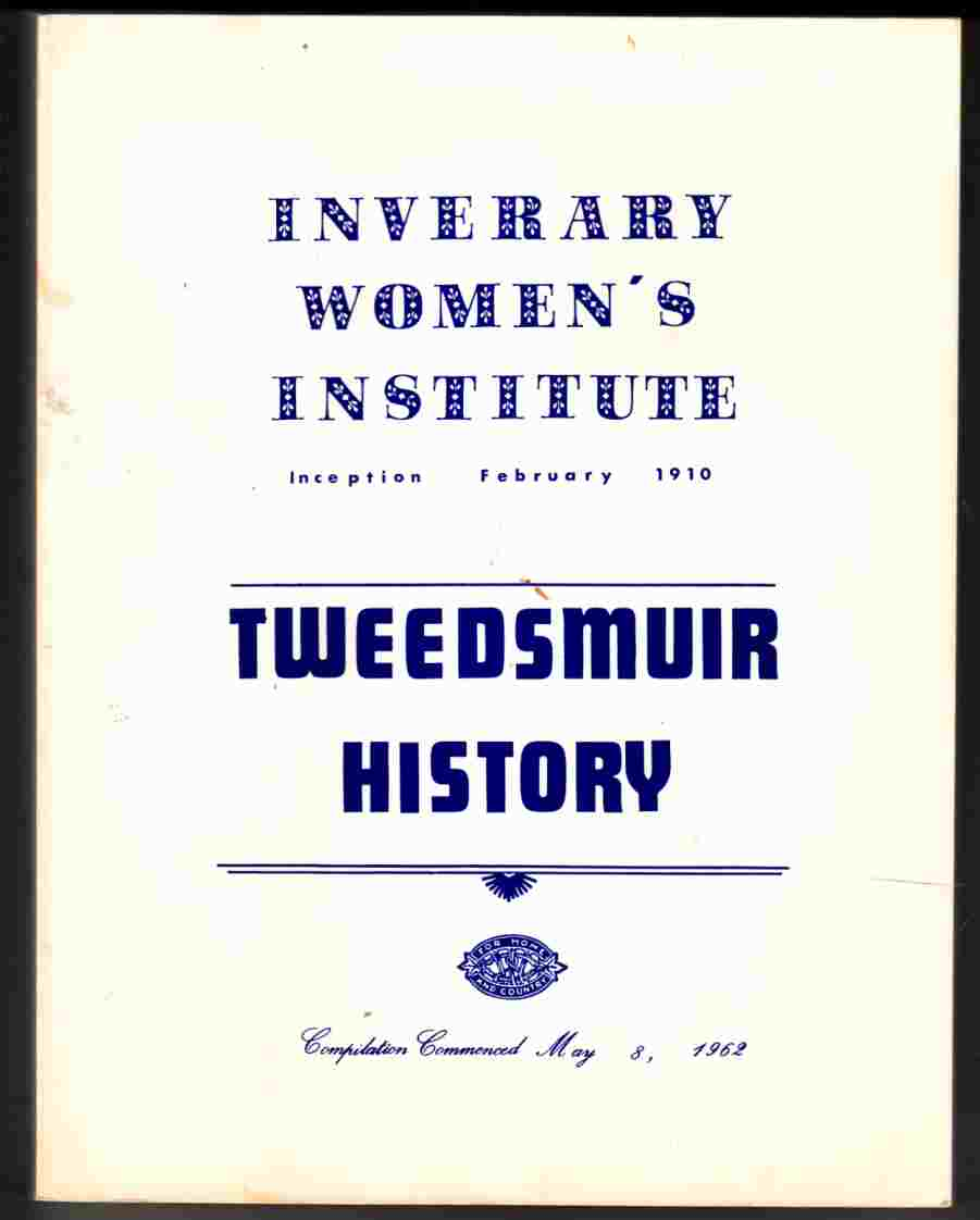 Image for Inverary Women's Institute Tweedsmuir History