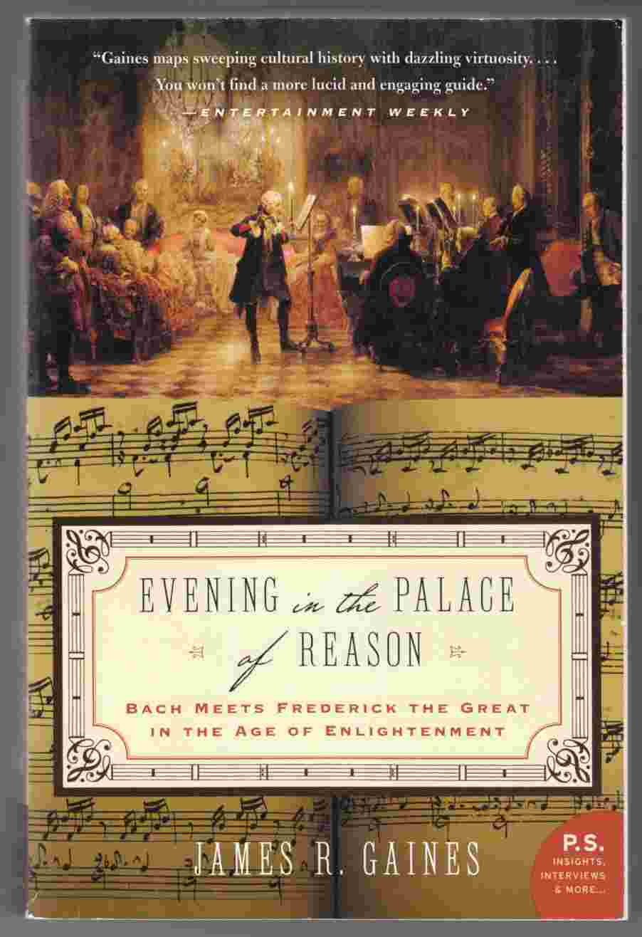 Image for Evening in the Palace of Reason Bach Meets Frederick the Great in the Age of Enlightenment