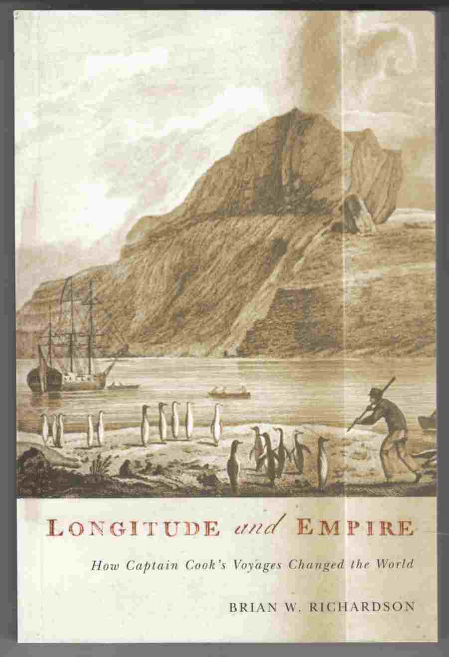 Image for Longitude and Empire How Captain Cook's Voyages Changed the World