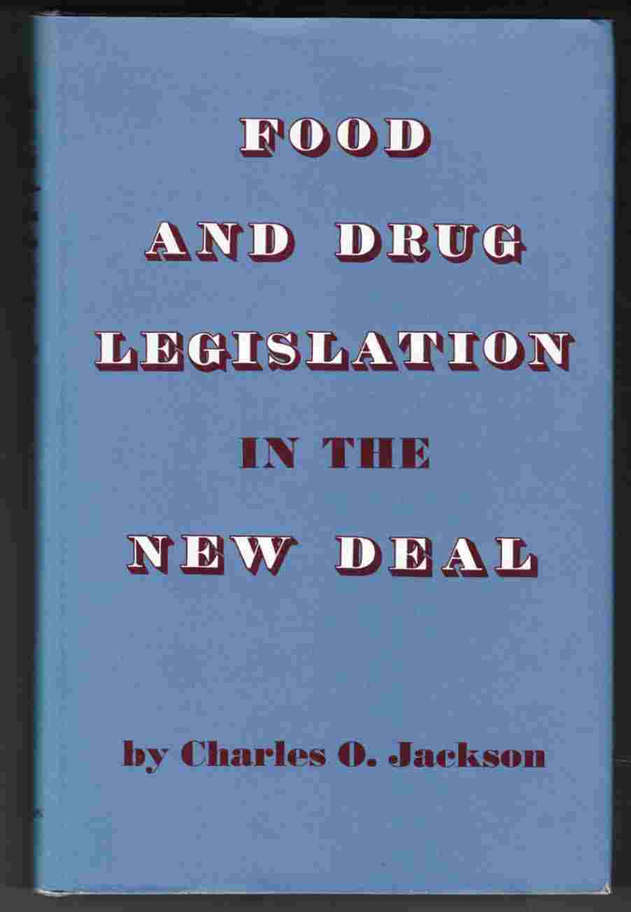 Image for Food and Drug Legislation in the New Deal