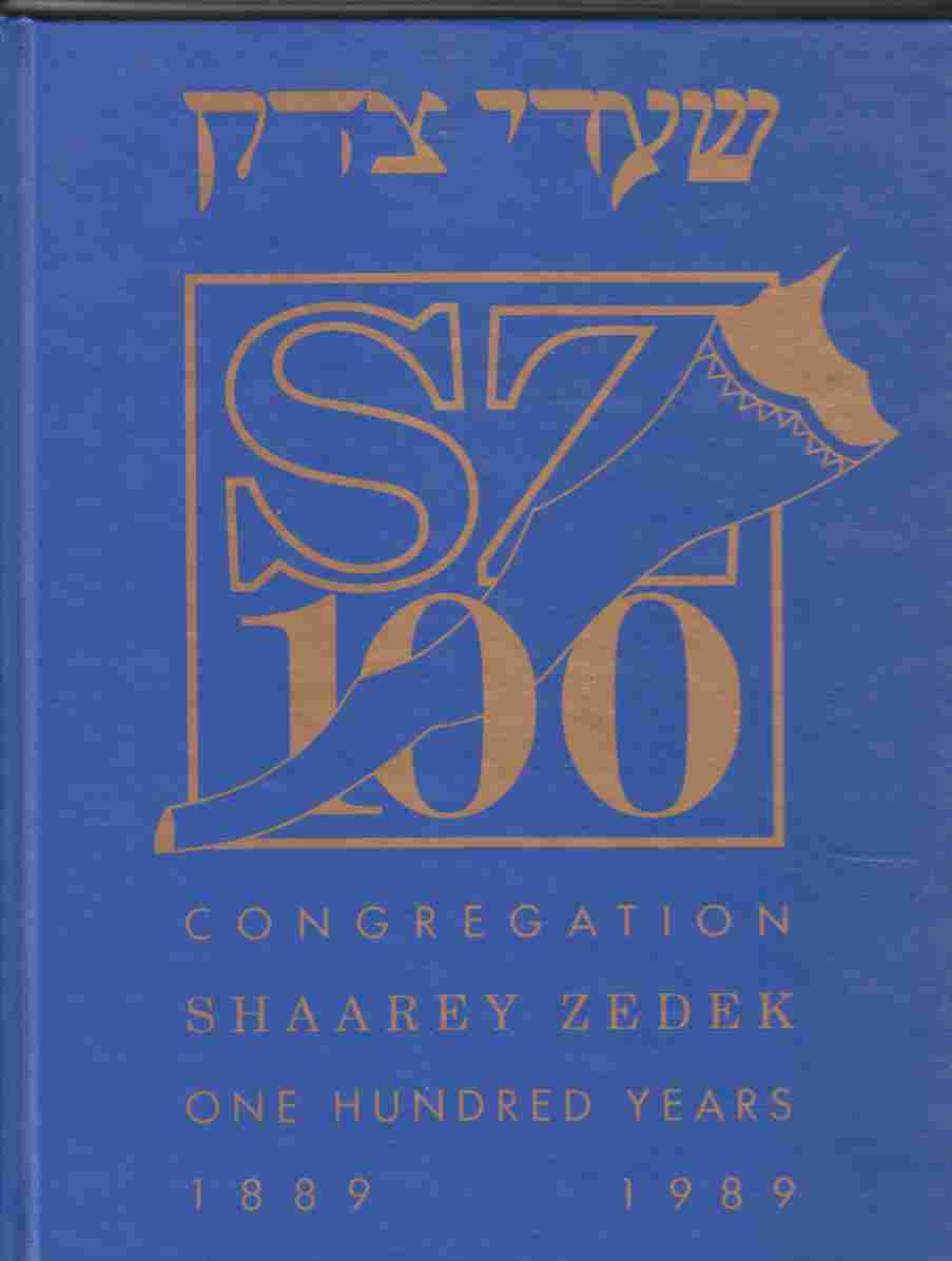 Image for Congregation Shaarey Zedek One Hundred Years 1889 1989