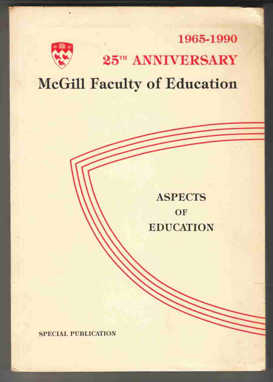 Image for Aspects of Education