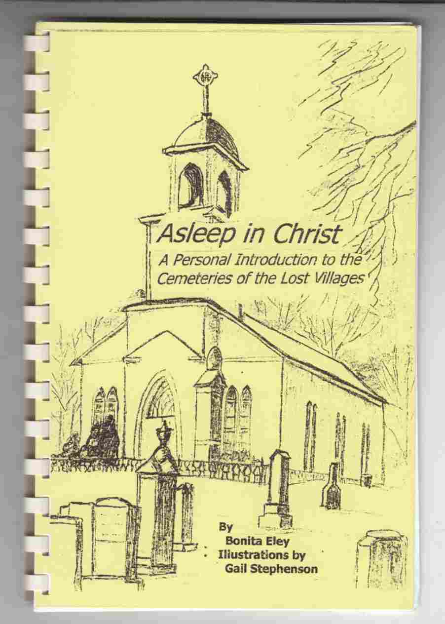 Image for Asleep in Christ A Personal Introduction to the Cemeteries of the Lost Villages