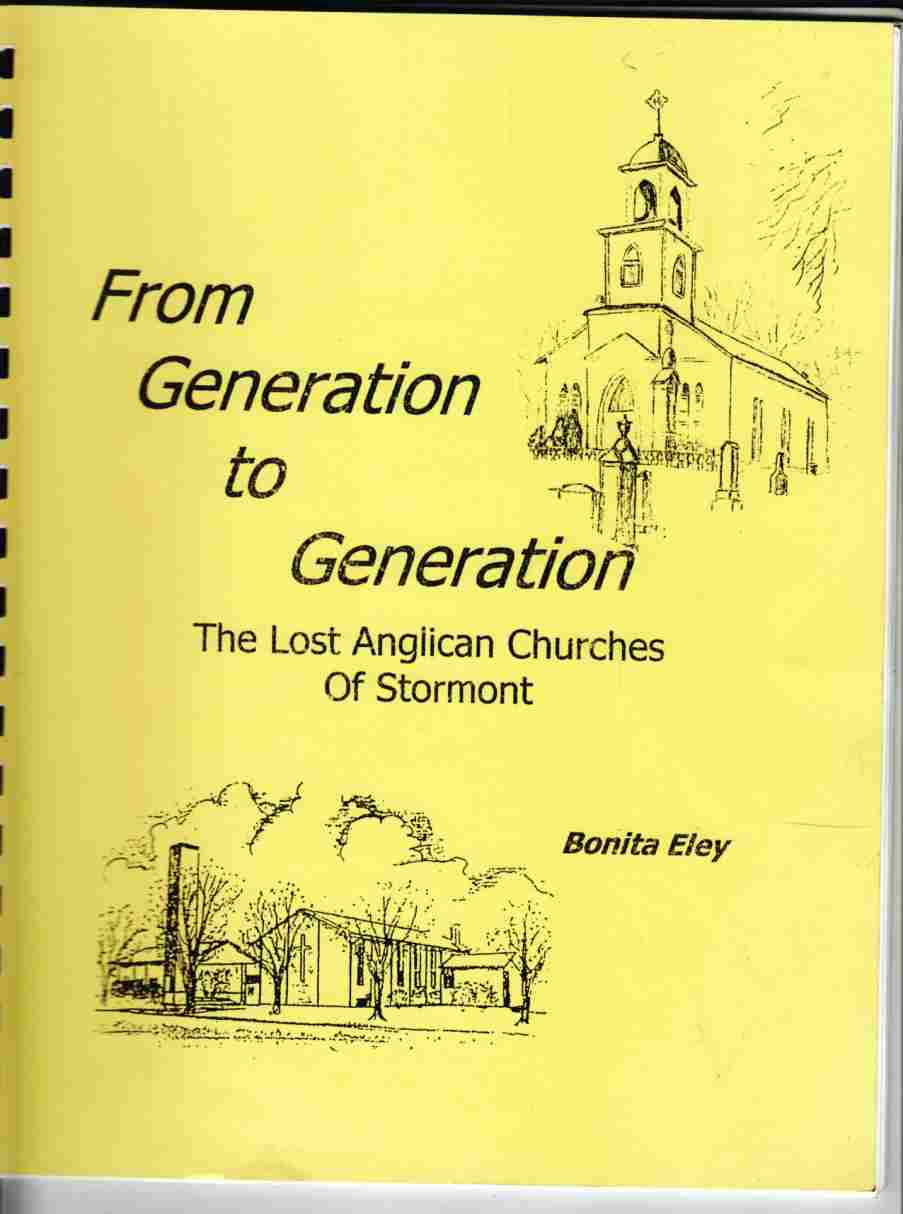 Image for From Generation to Generation The Lost Anglican Churches of Stormont