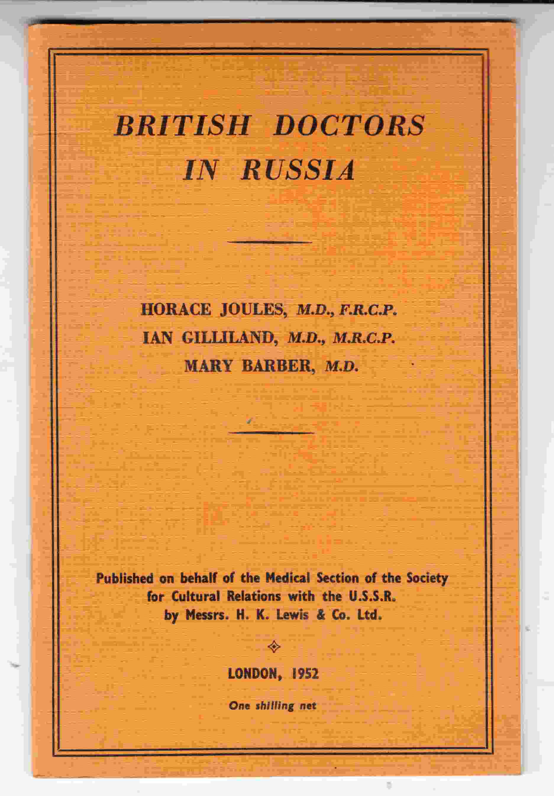 Image for British Doctors in Russia