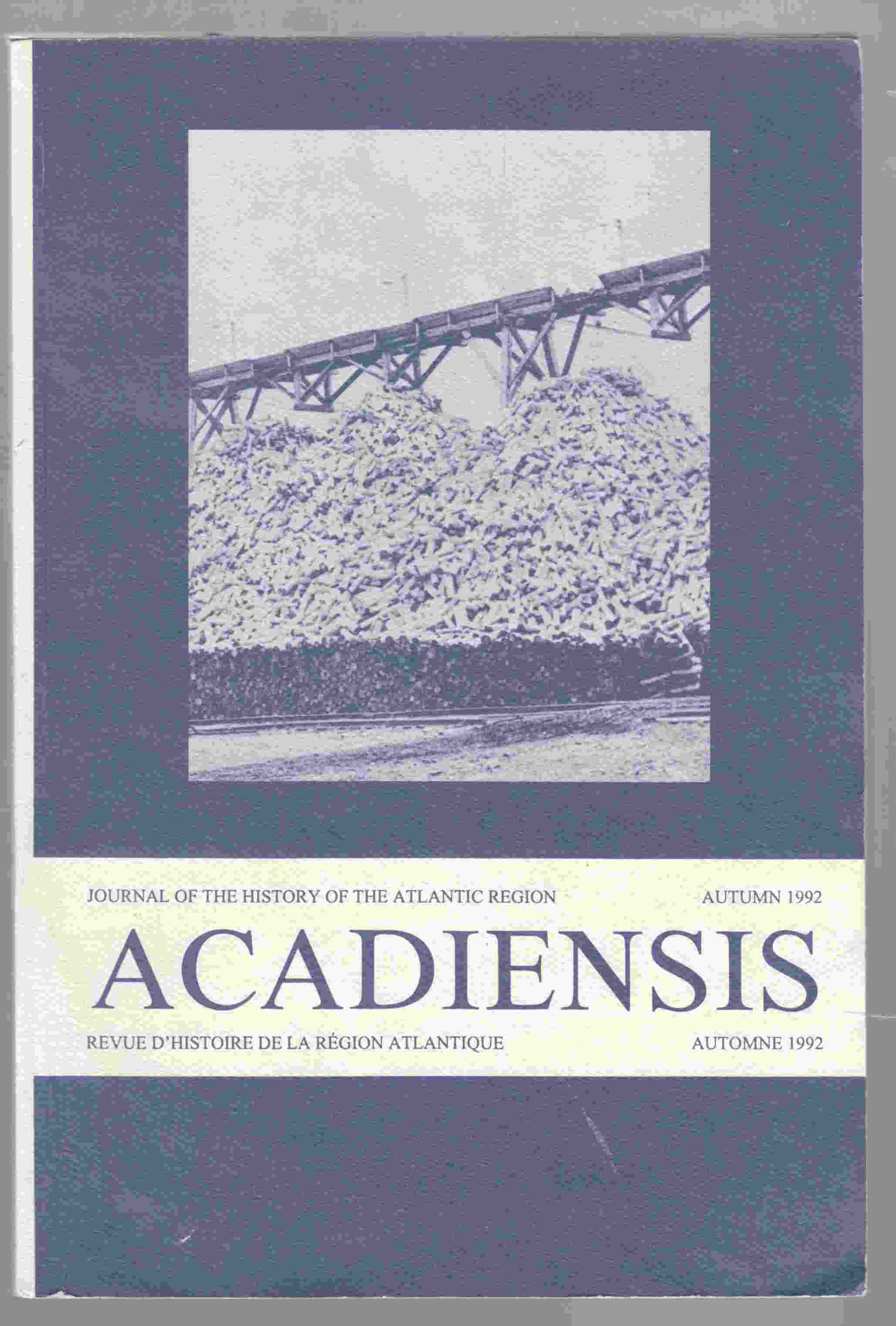 Image for Acadensis Autumn 1992
