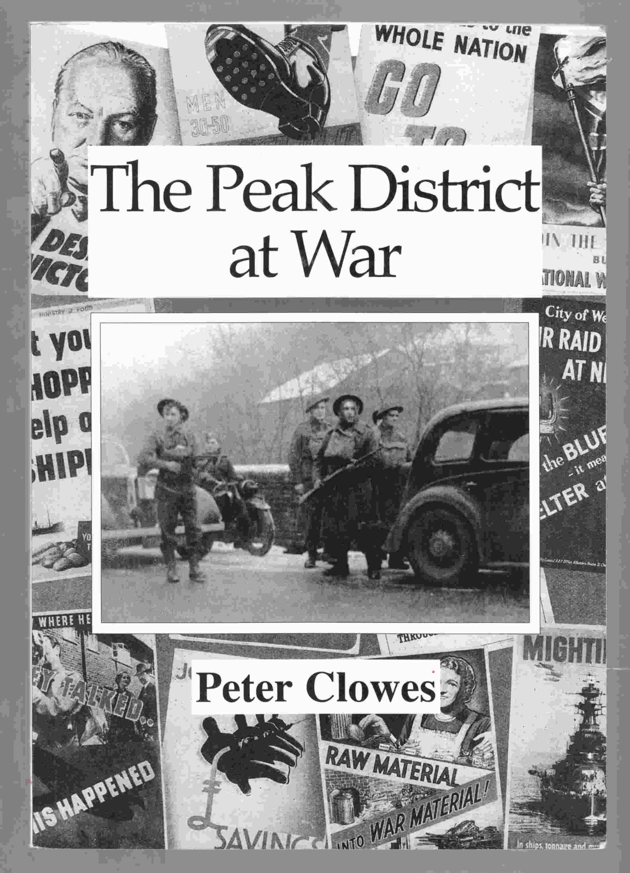 Image for The Peak District At War