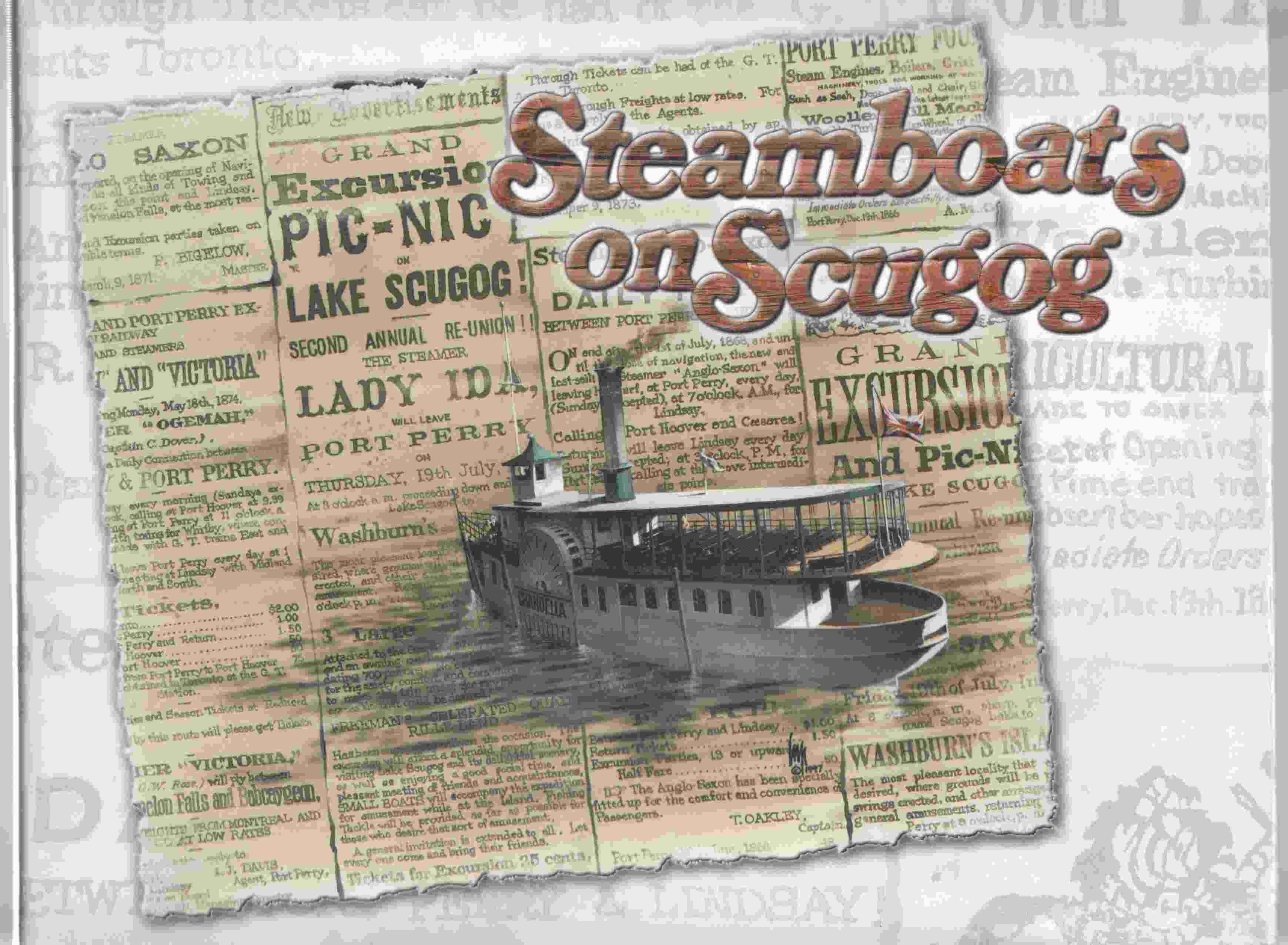 Image for Steamboats on Scugog A History of Steamboating on the South Central Kawarthas