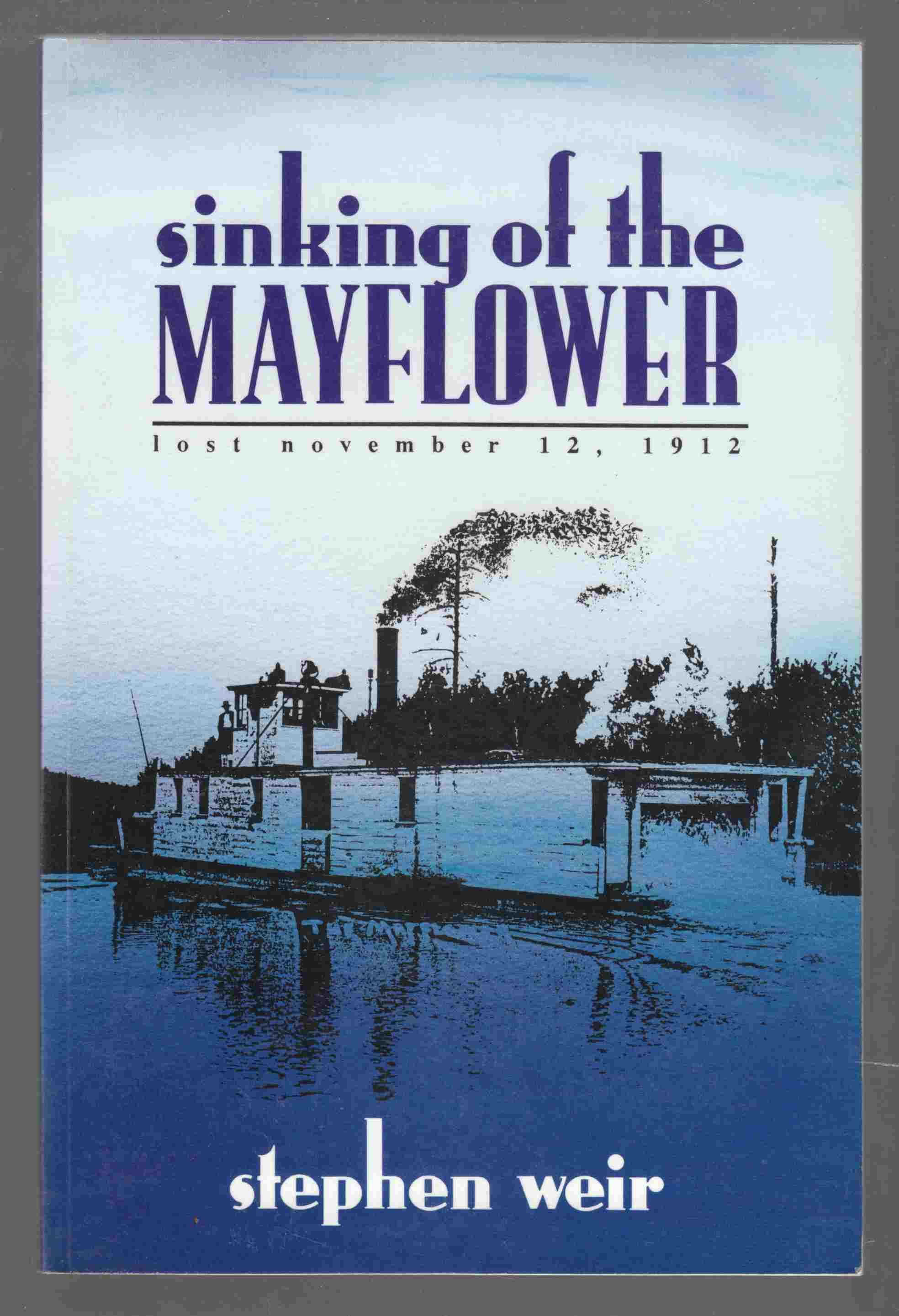 Image for Sinking of the Mayflower Lost November 12, 1912