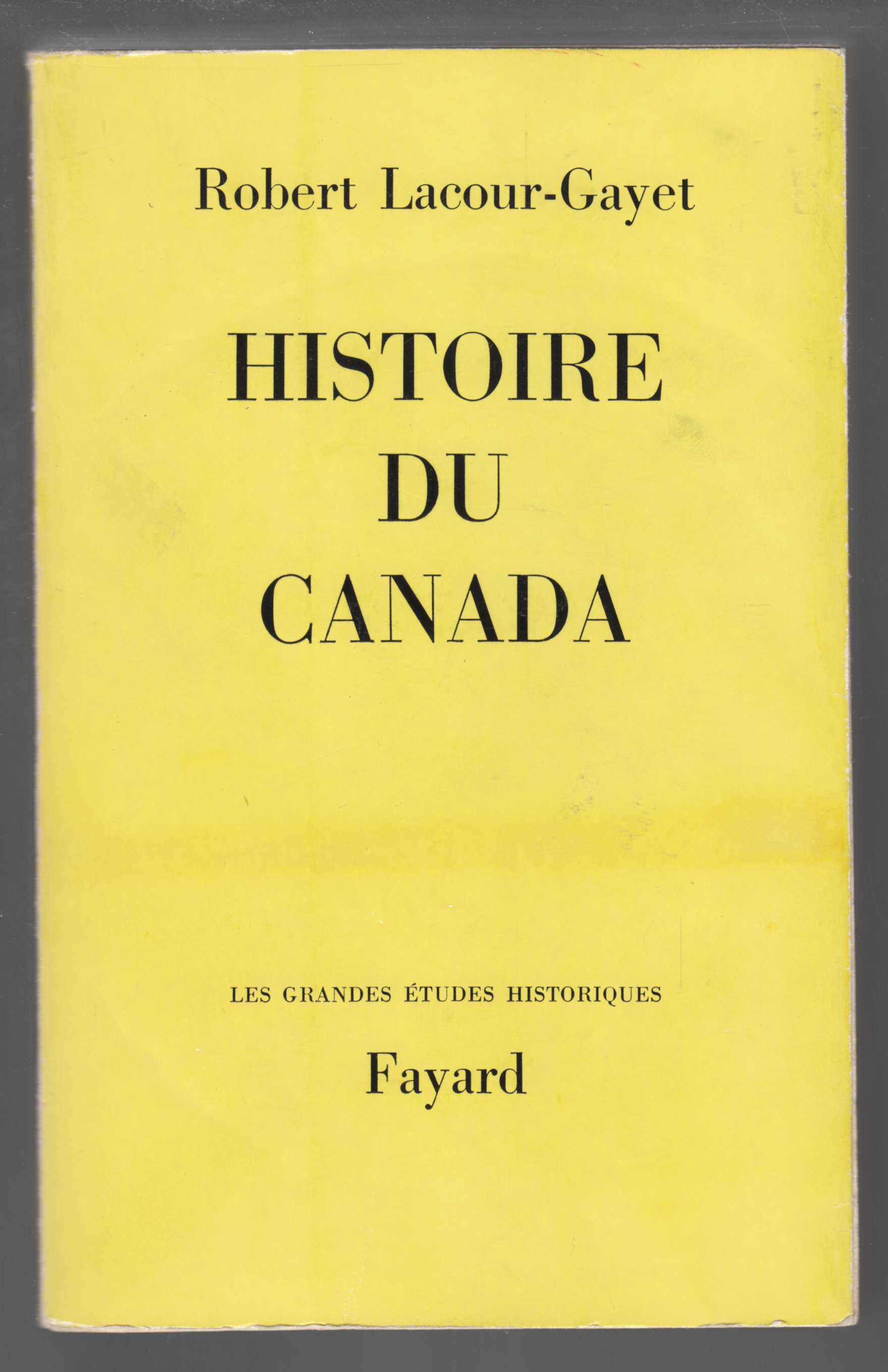 Image for Histoire Du Canada