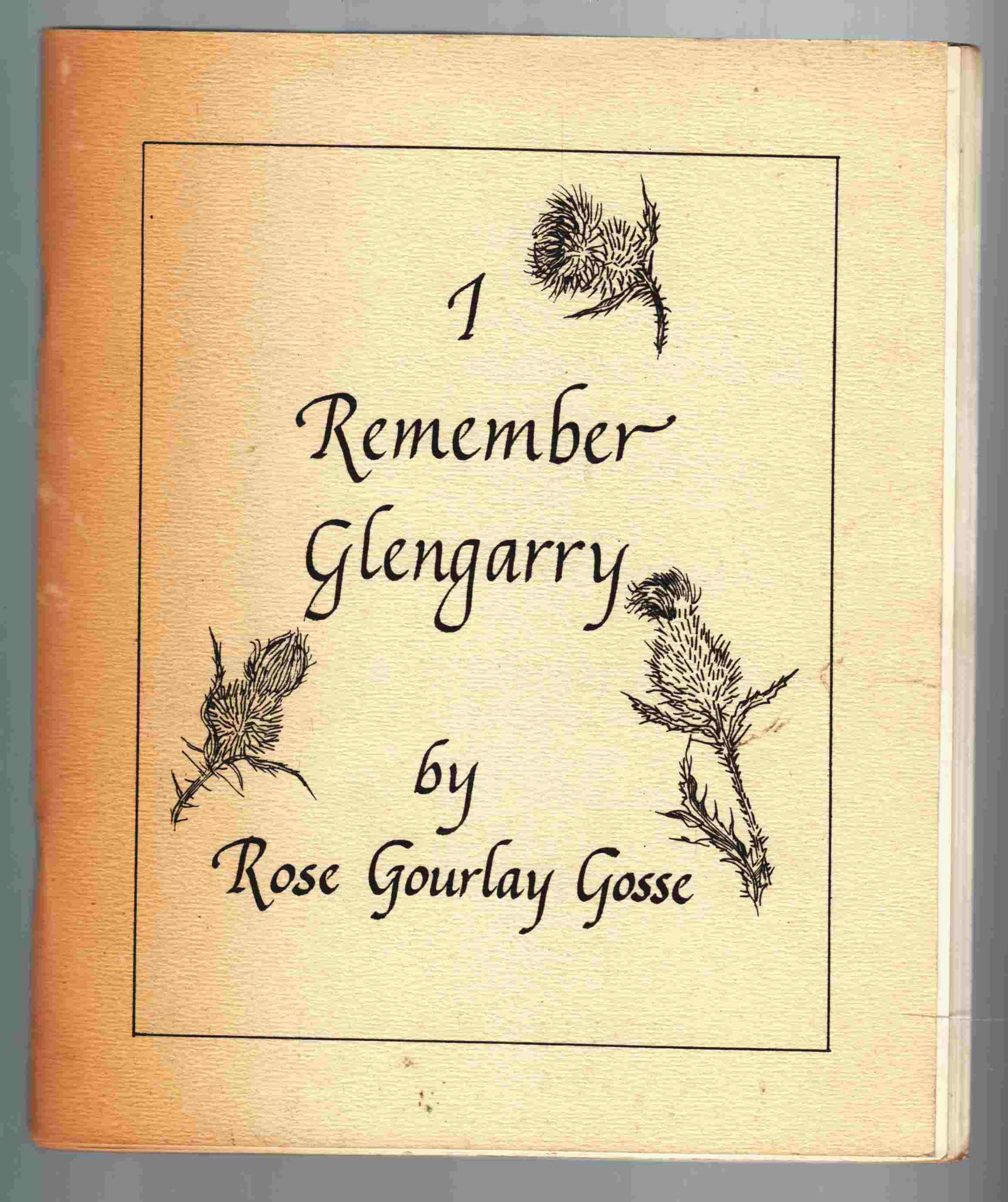Image for I Remember Glengarry