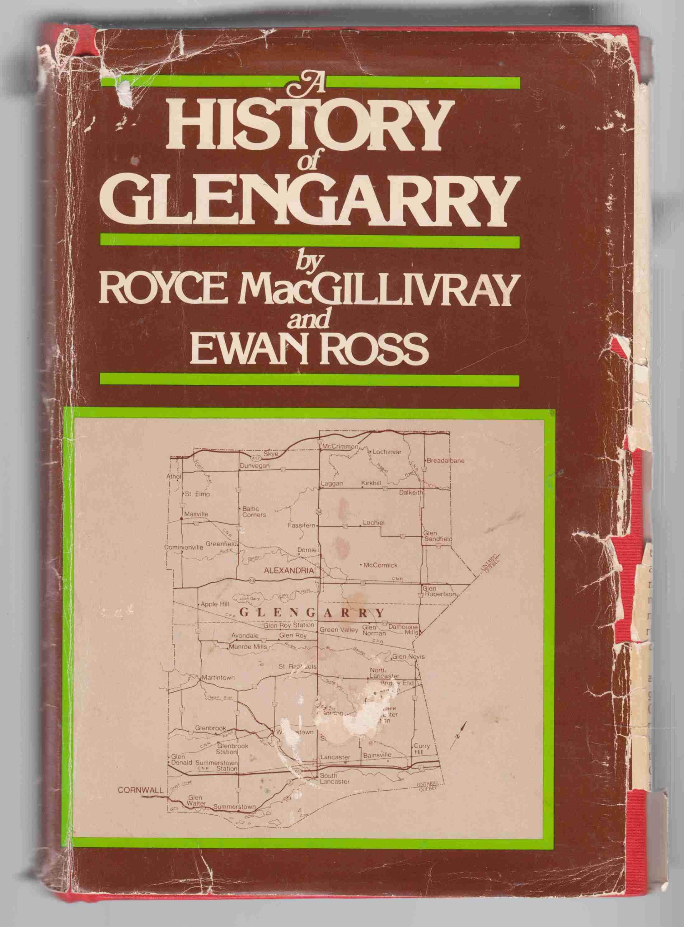 Image for A History of Glengarry