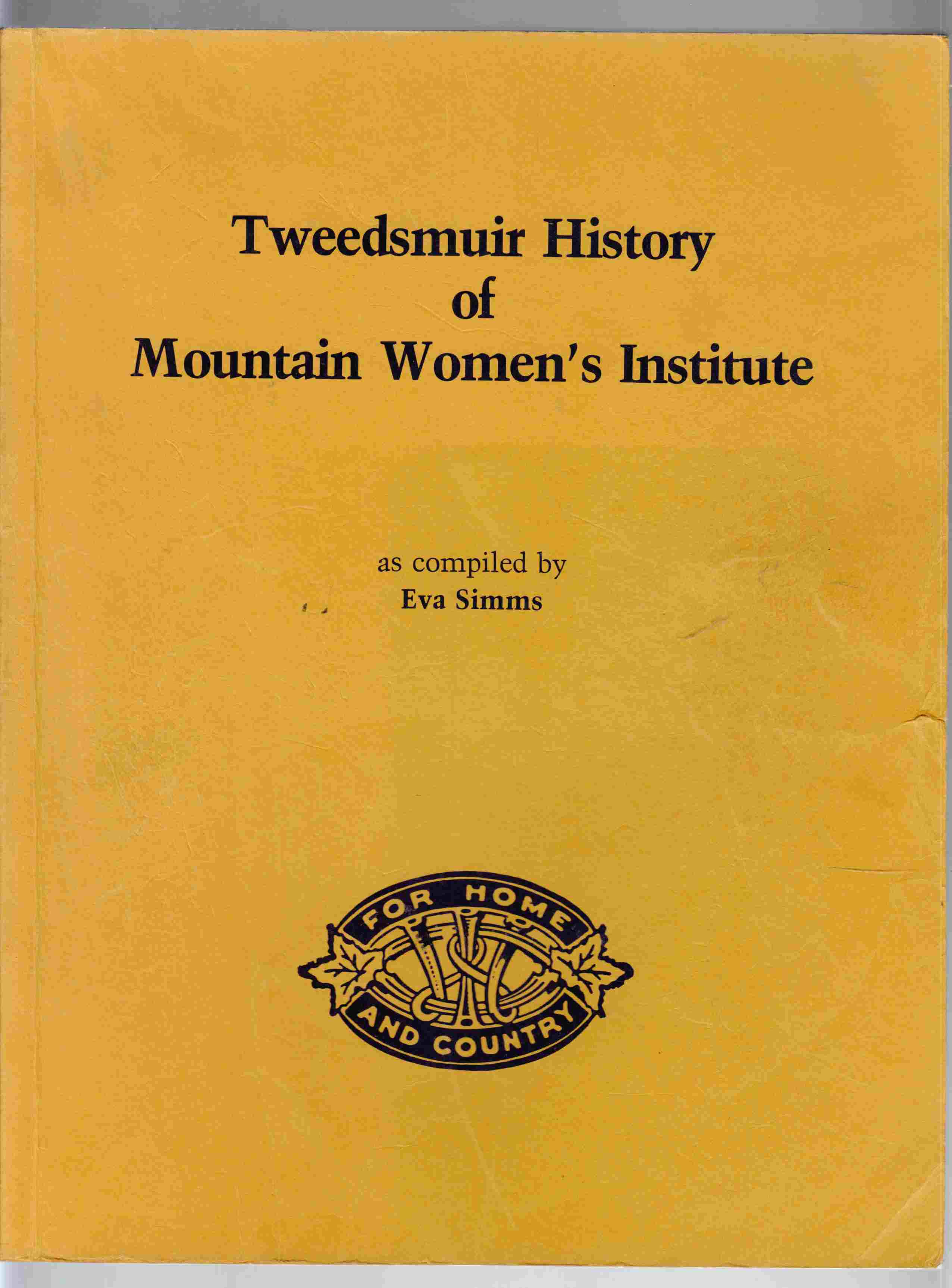 Image for Tweedsmuir History of Mountain Women's Institute