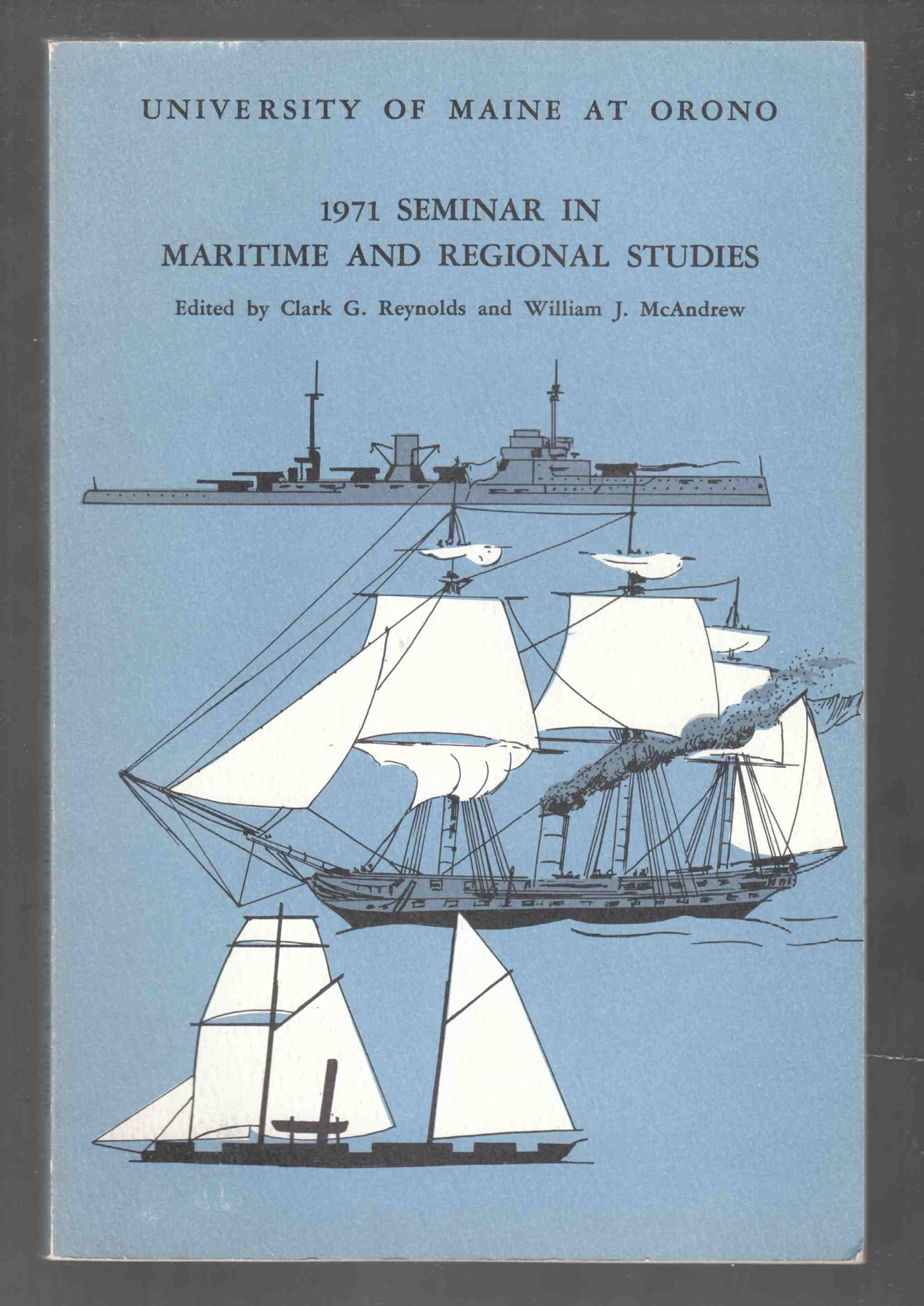 Image for University of Maine 1971 Seminar in Maritime and Regional Studies