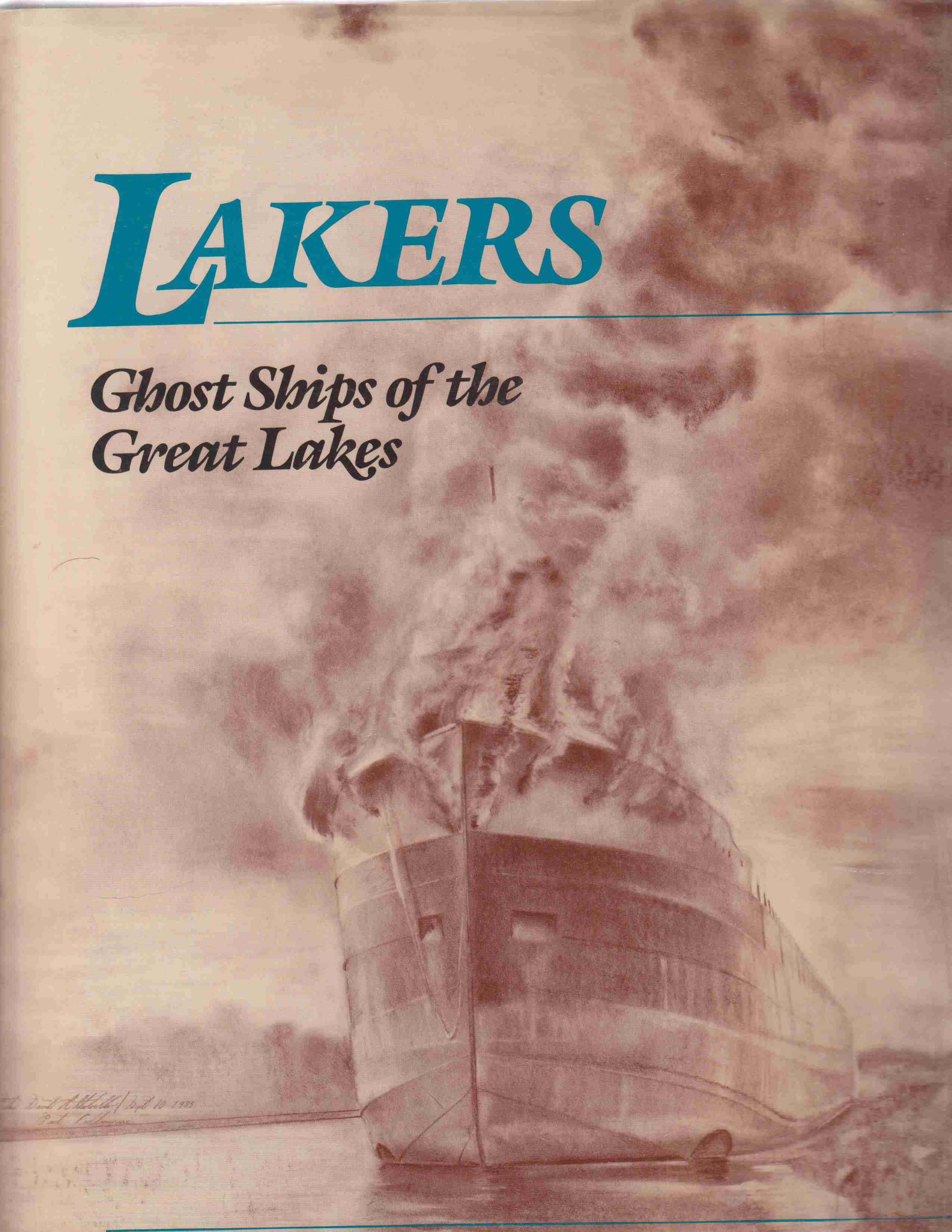 Image for Lakers:  Ghost Ships of the Great Lakes