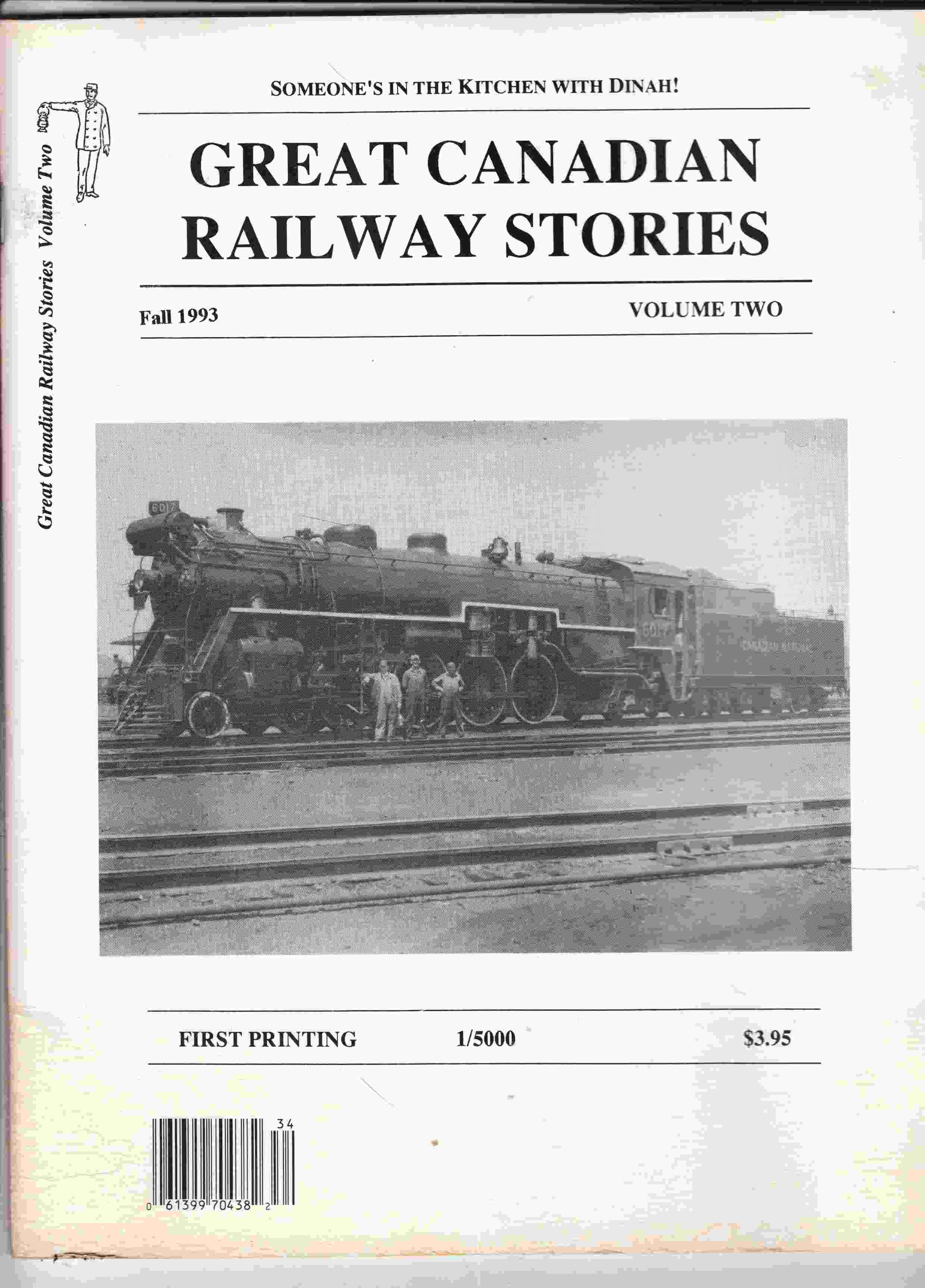 Image for Great Canadian Railway Stories, Volume Two, Fall 1993