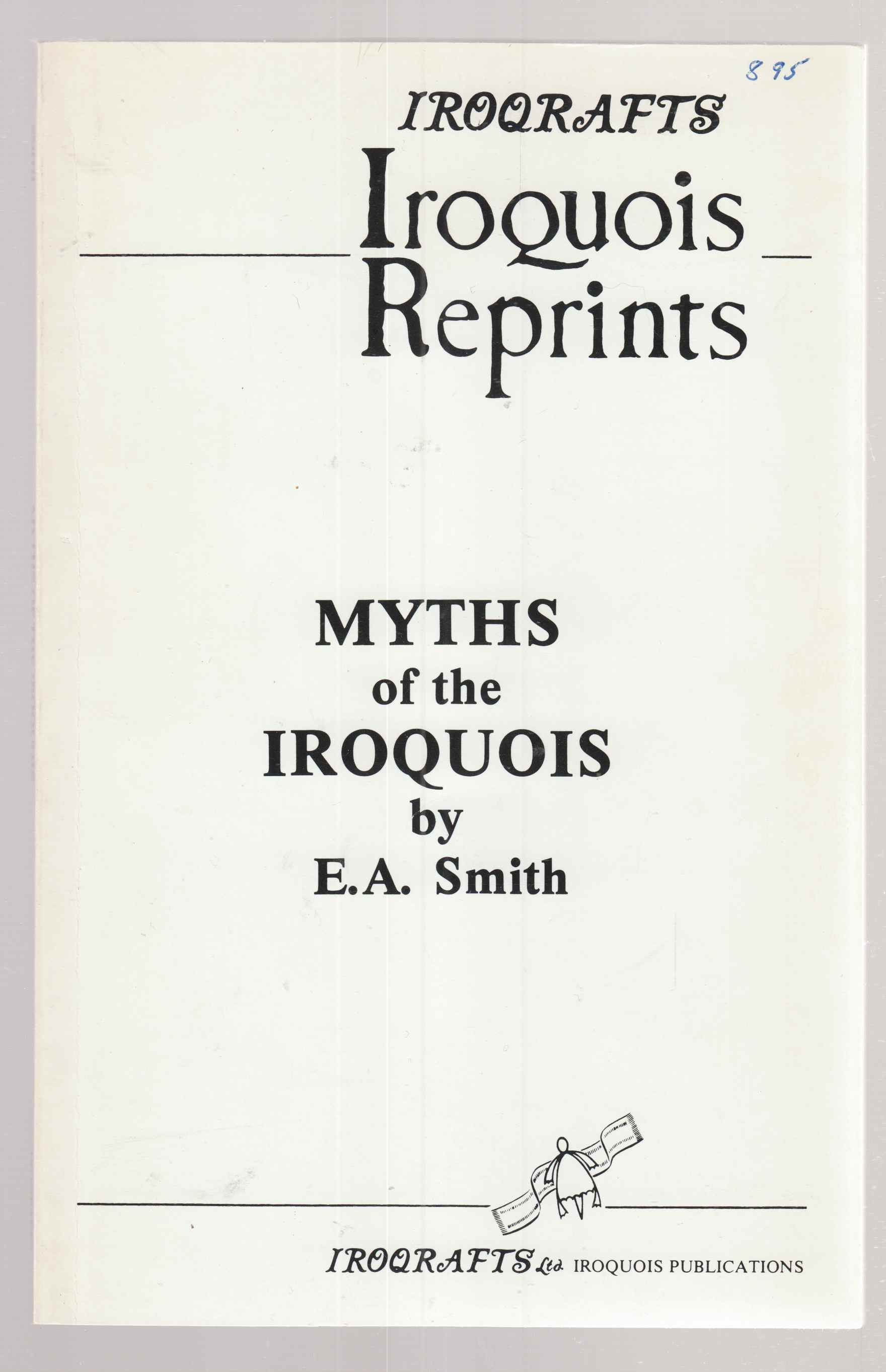 Image for Myths of the Iroquois