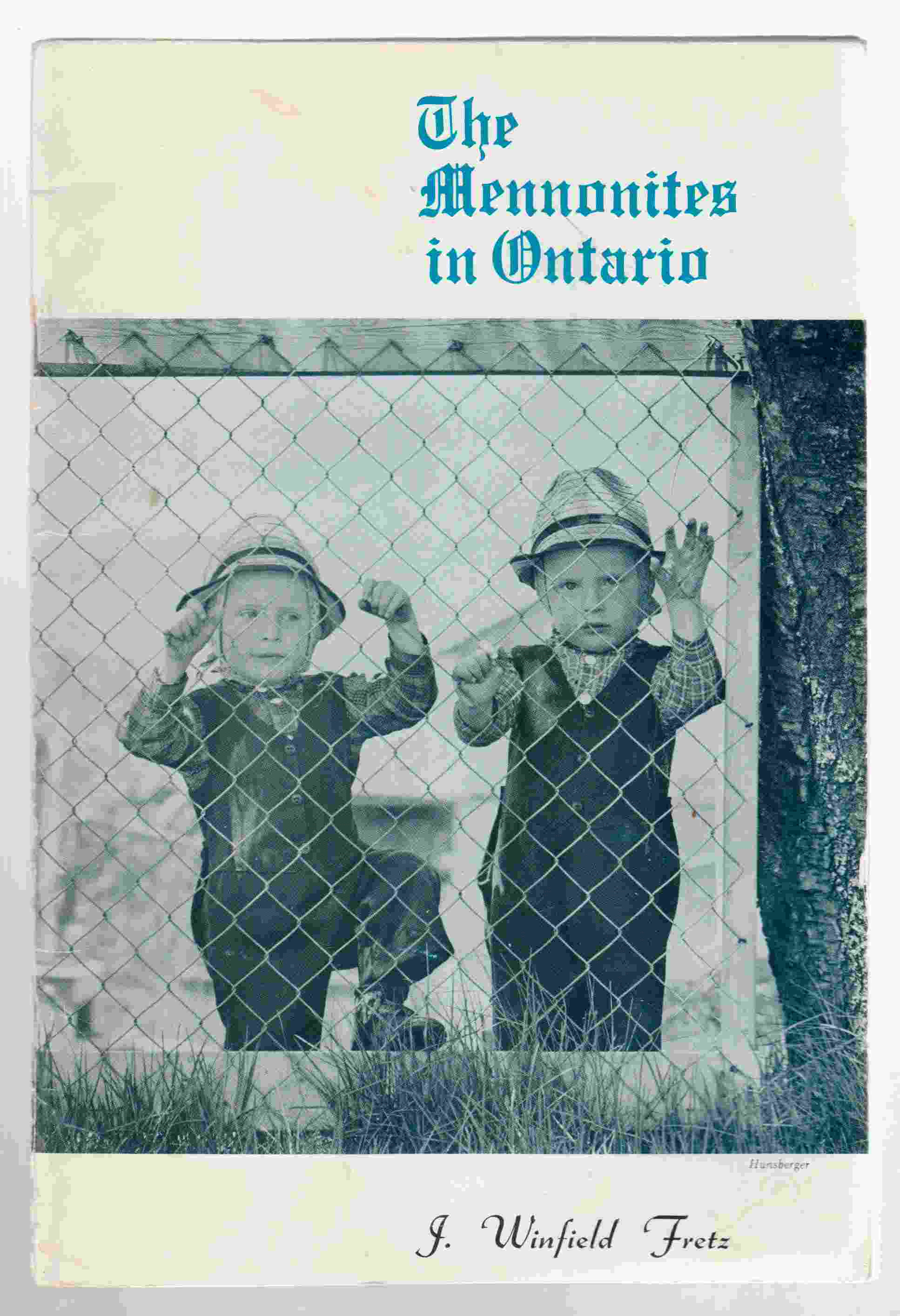 Image for The Mennonites in Ontario