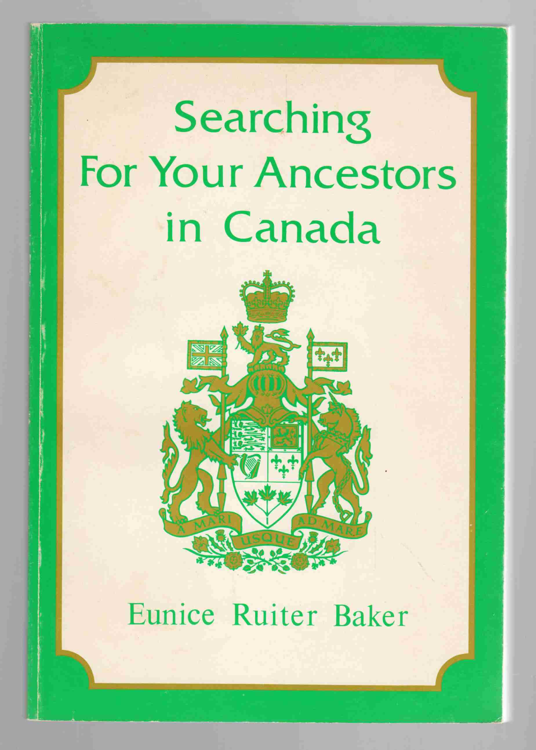 Image for Searching For Your Ancestors in Canada