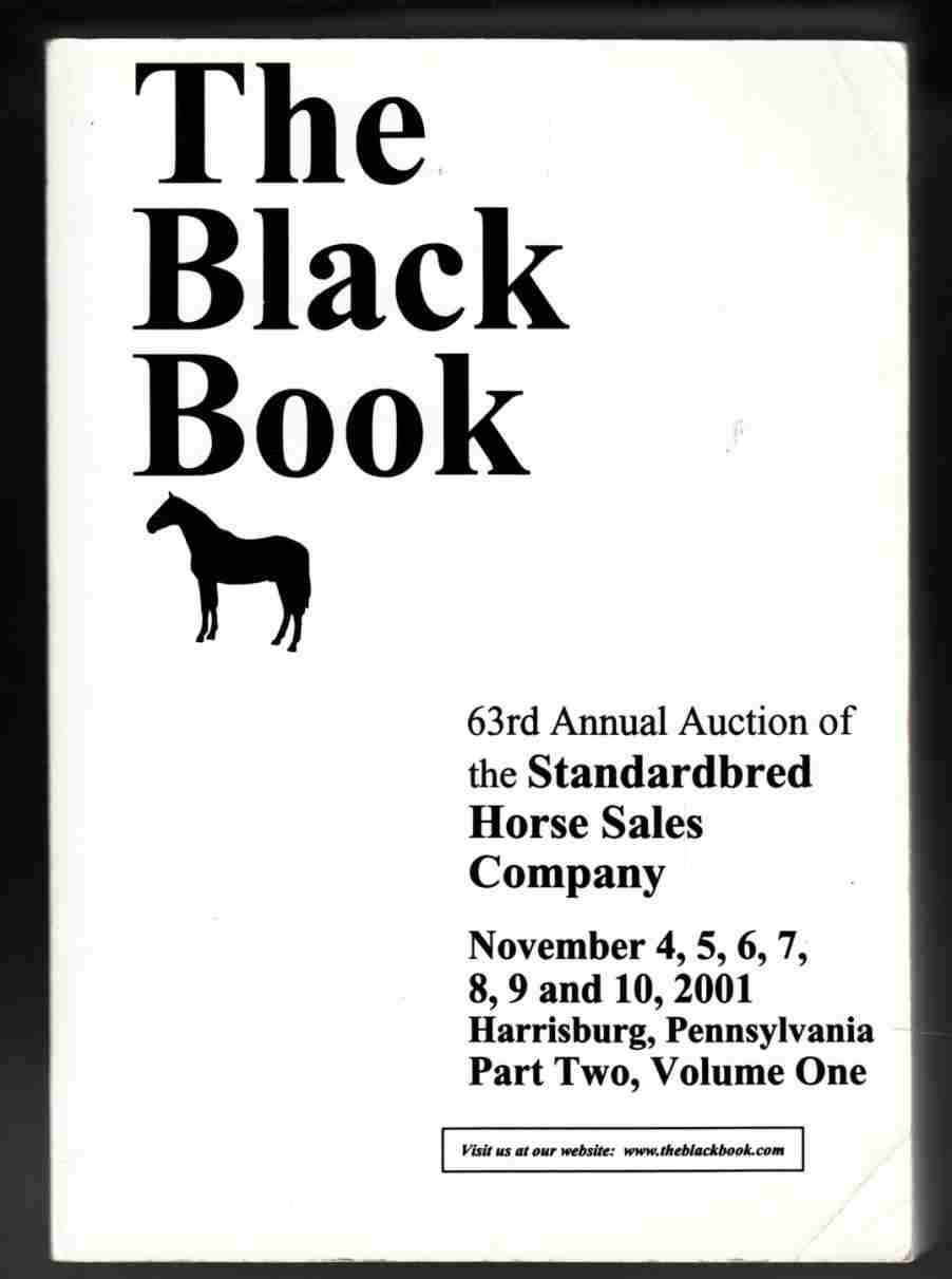 Image for The Black Book 63rd Annual Auction of the Standardbred Horse Sales Company, Part Two, Volumes 1 and 2