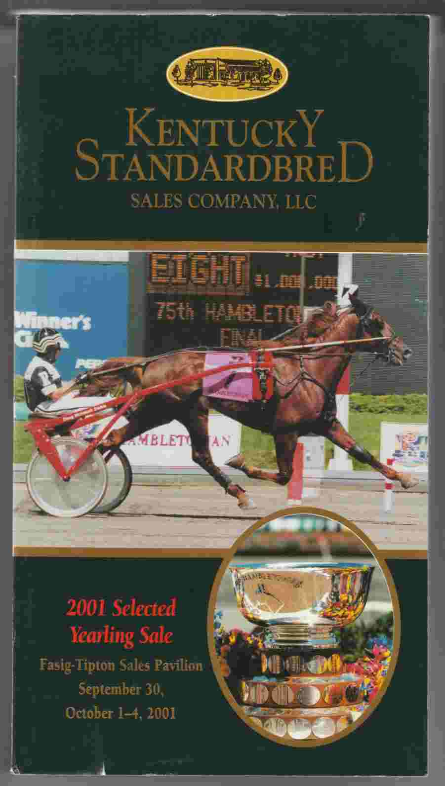 Image for 2001 Selected Yearling Sale