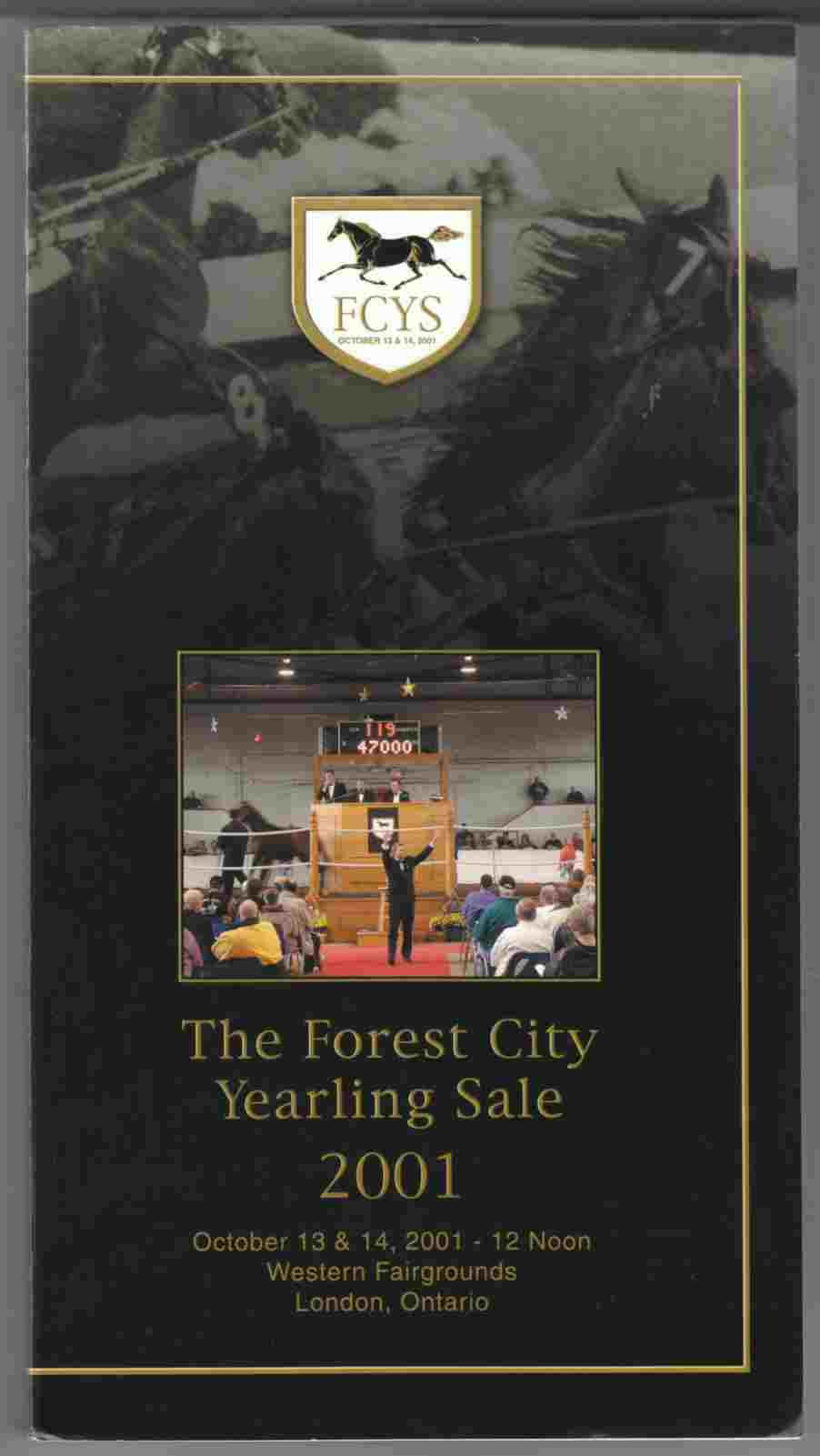 Image for The Forest City Yearling Sale 2001