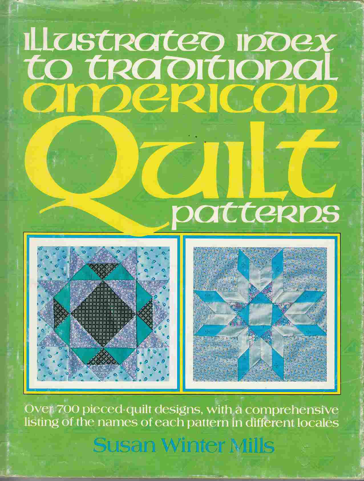 Image for Illustrated Index to Traditional American Quilt Patterns