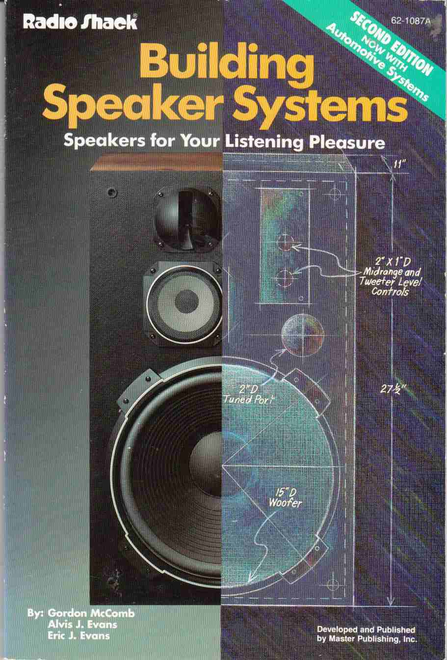 Image for Building Speaker Systems Speakers for Your Listening Pleasure, Second Edition