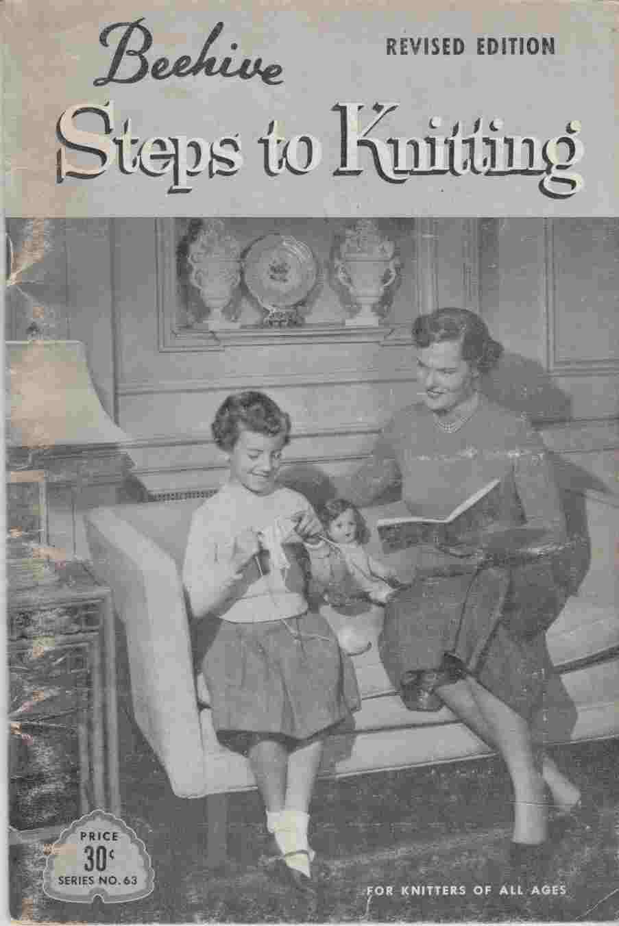 Image for Beehive Steps to Knitting Revised Edition