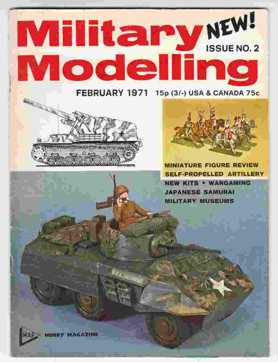Image for Military Modelling Issue No. 2 February 1971