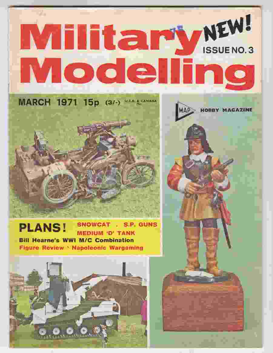 Image for Military Modelling Issue No. 3 March 1971