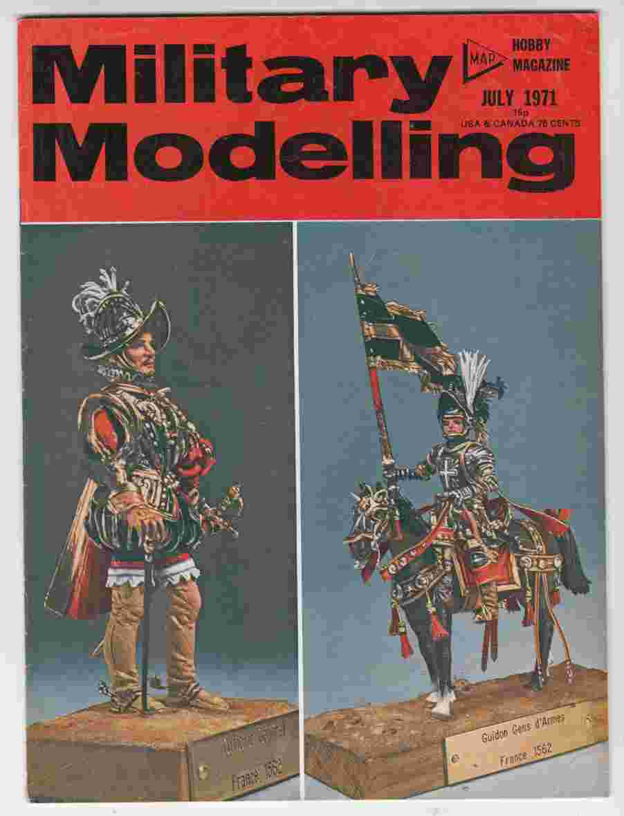 Image for Military Modelling July 1971