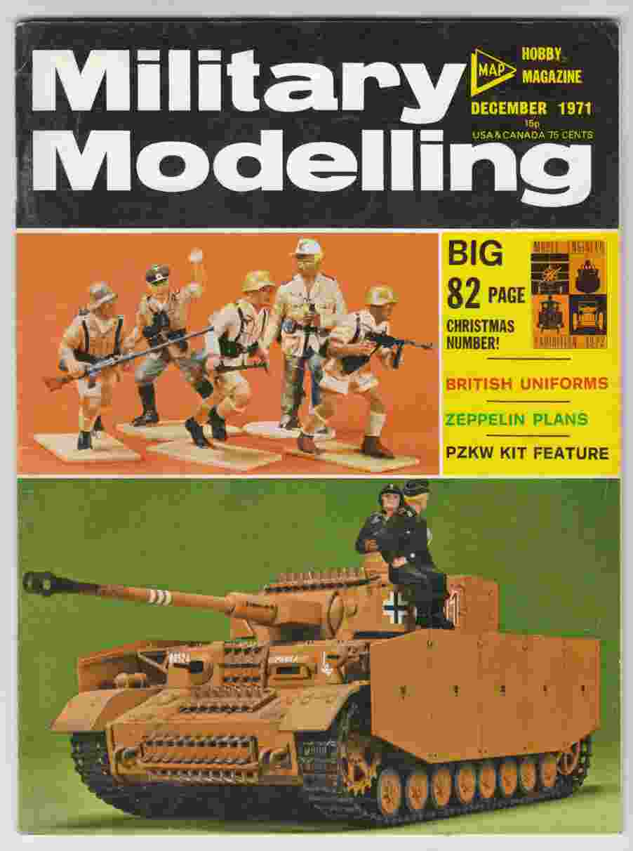 Image for Military Modelling December 1971