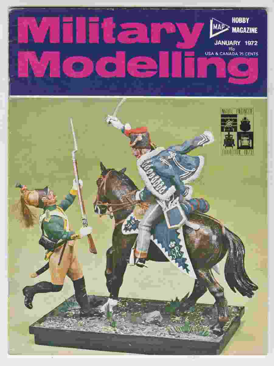 Image for Military Modelling January 1972
