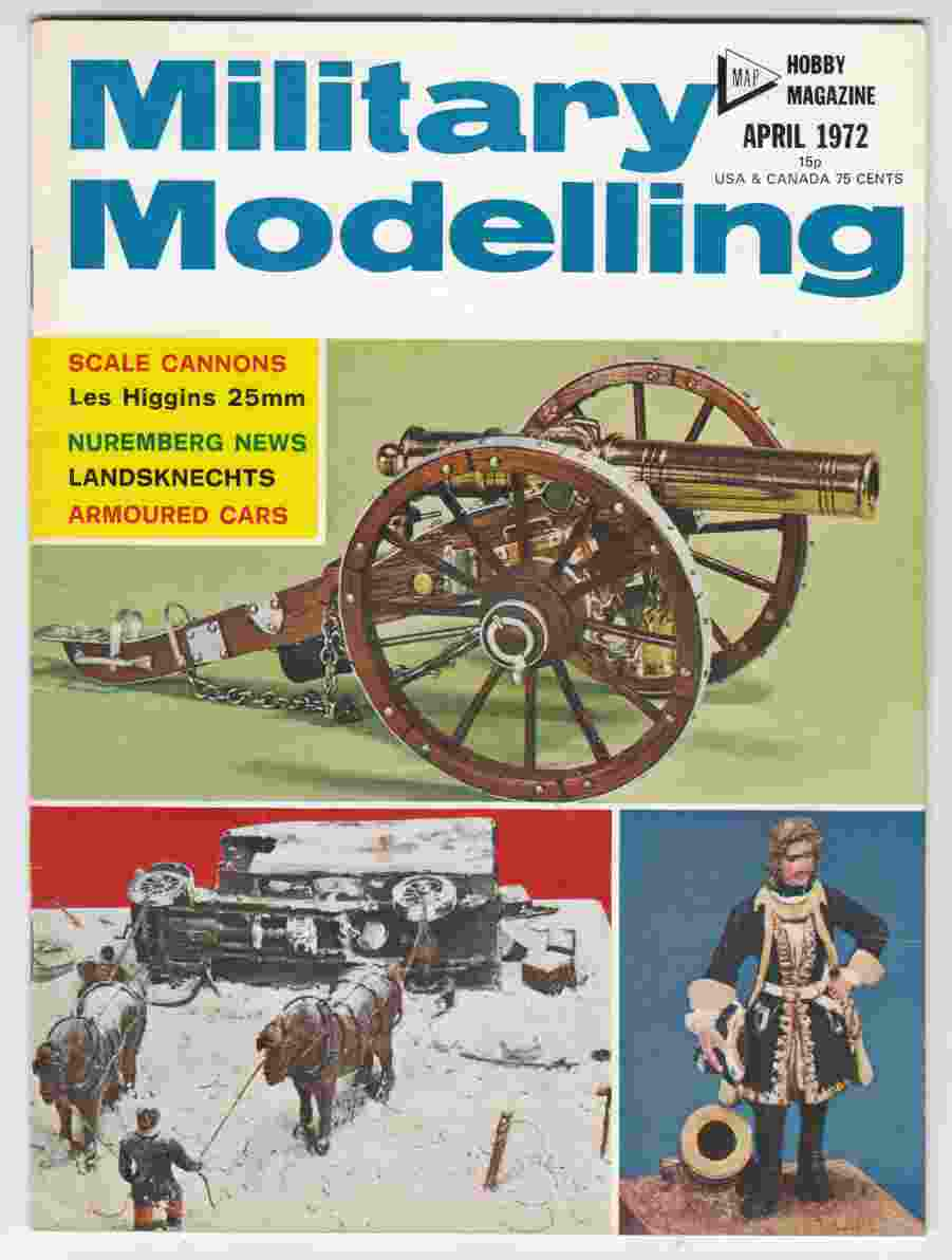 Image for Military Modelling April 1972