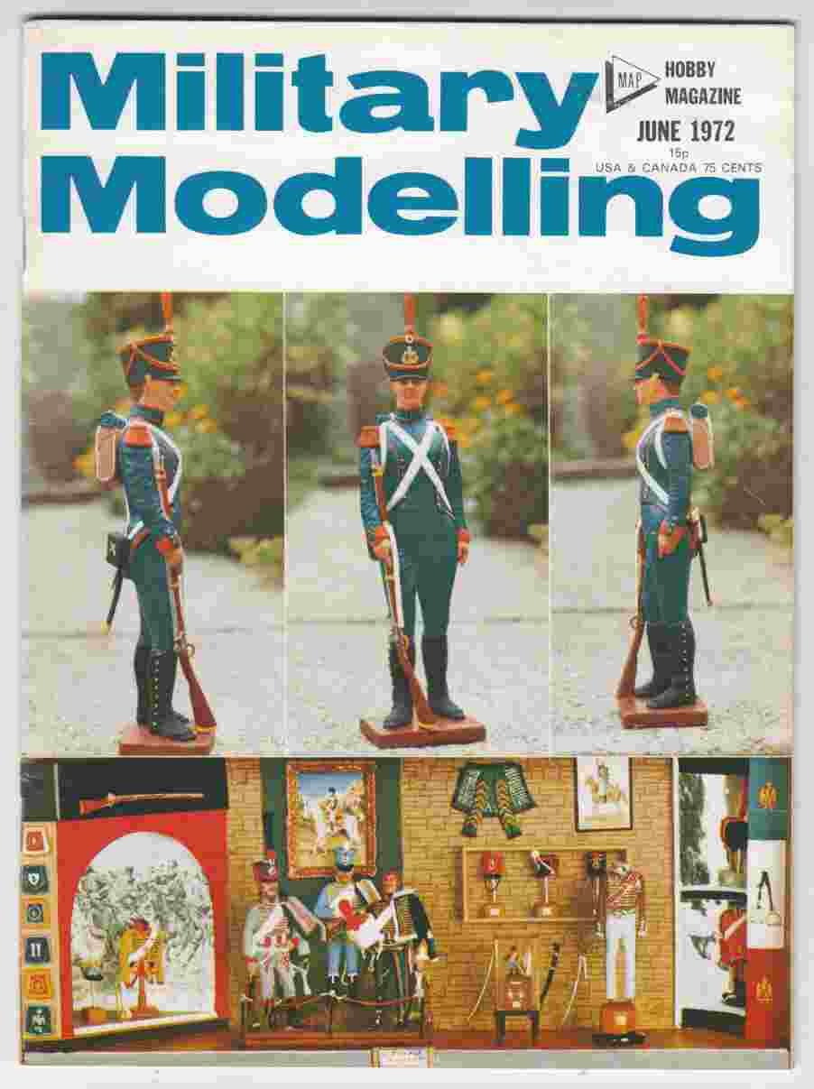 Image for Military Modelling June 1972