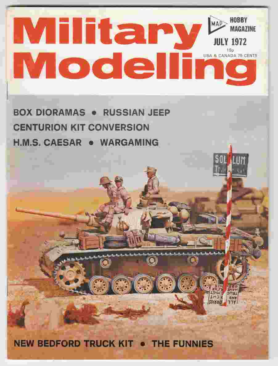 Image for Military Modelling July 1972