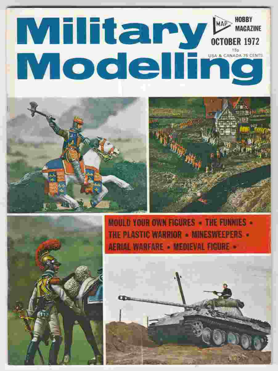 Image for Military Modelling October 1972