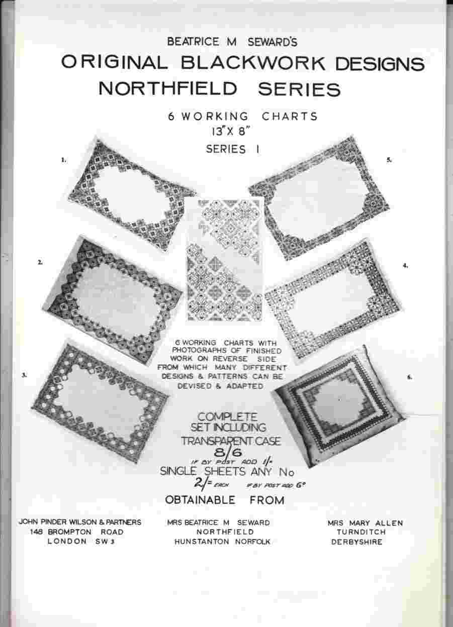 Image for Original Blackwork Designs Northfield Series - Series 1