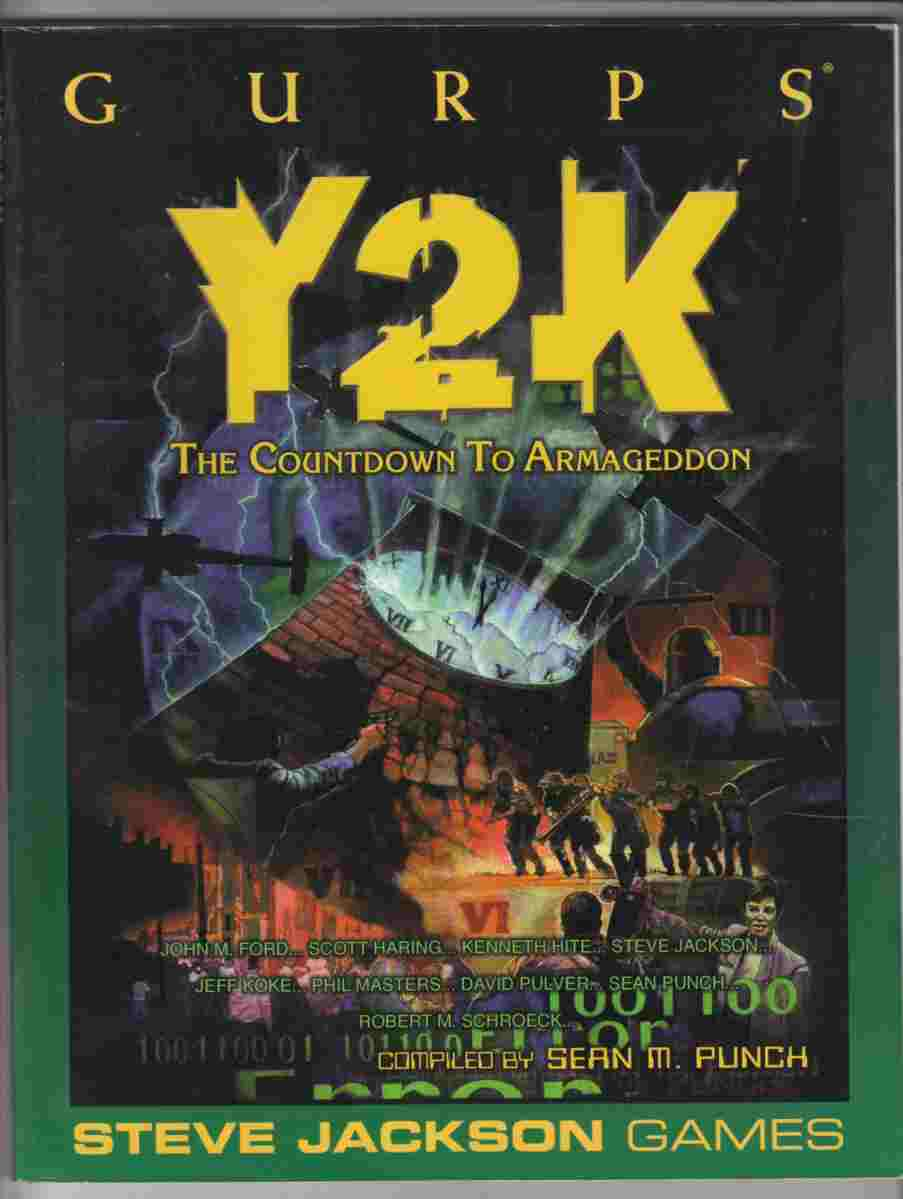 Image for GURPS Y2K The Countdown to Armageddon
