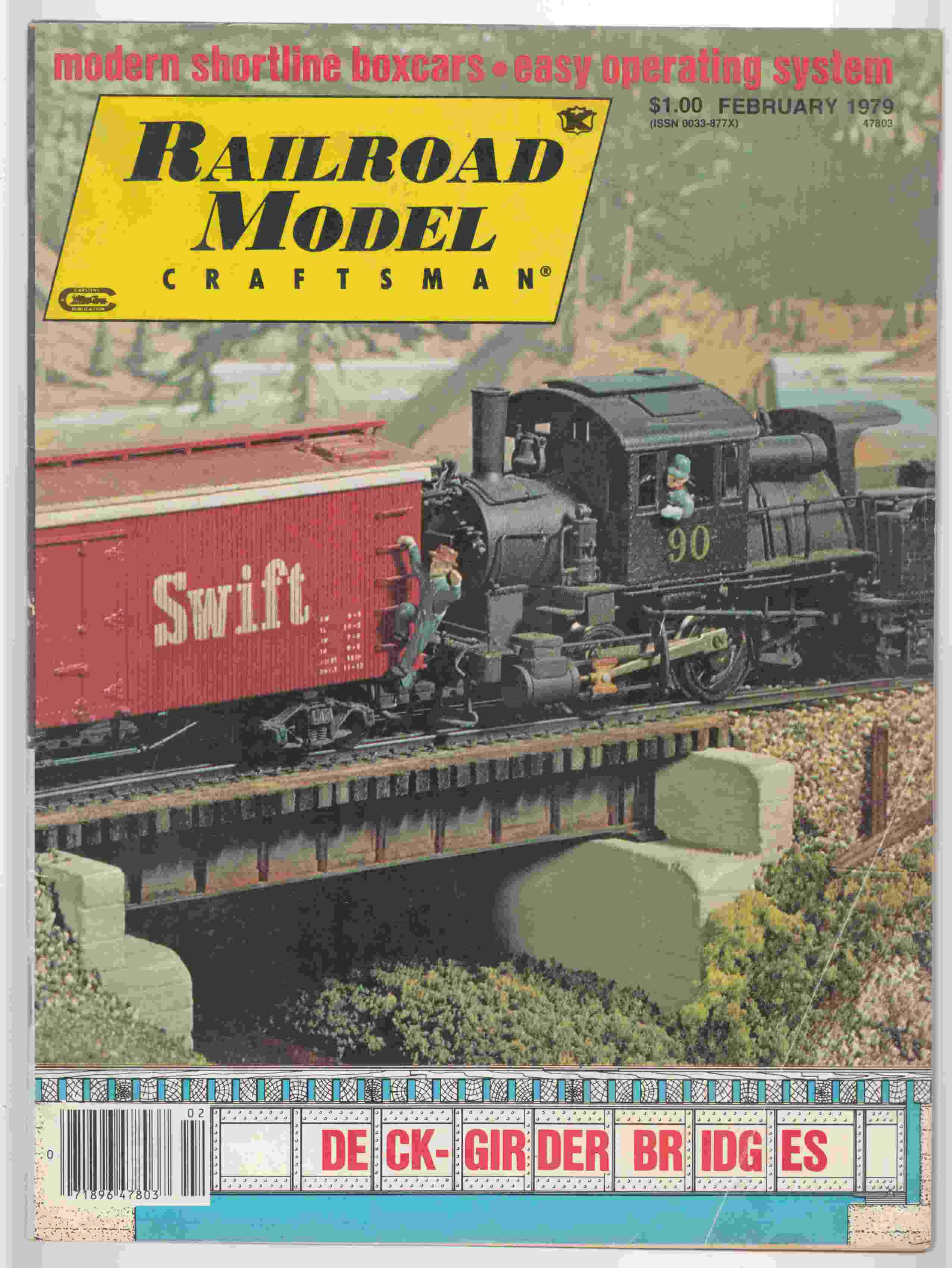 Image for Model Railroad Craftsman February 1979 Volume 47 Number 9