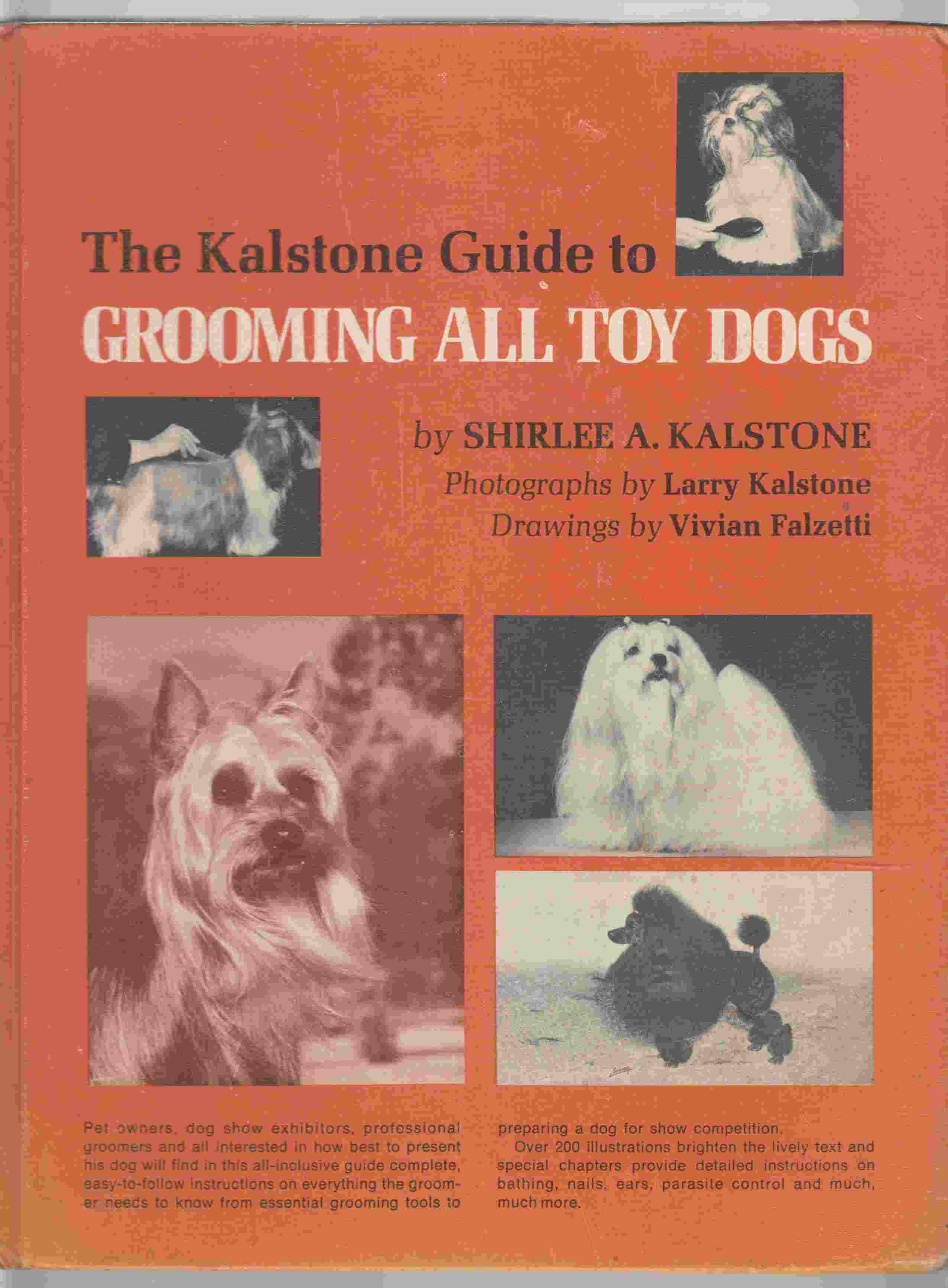 Image for The Kalstone Guide to Grooming all Toy Dogs