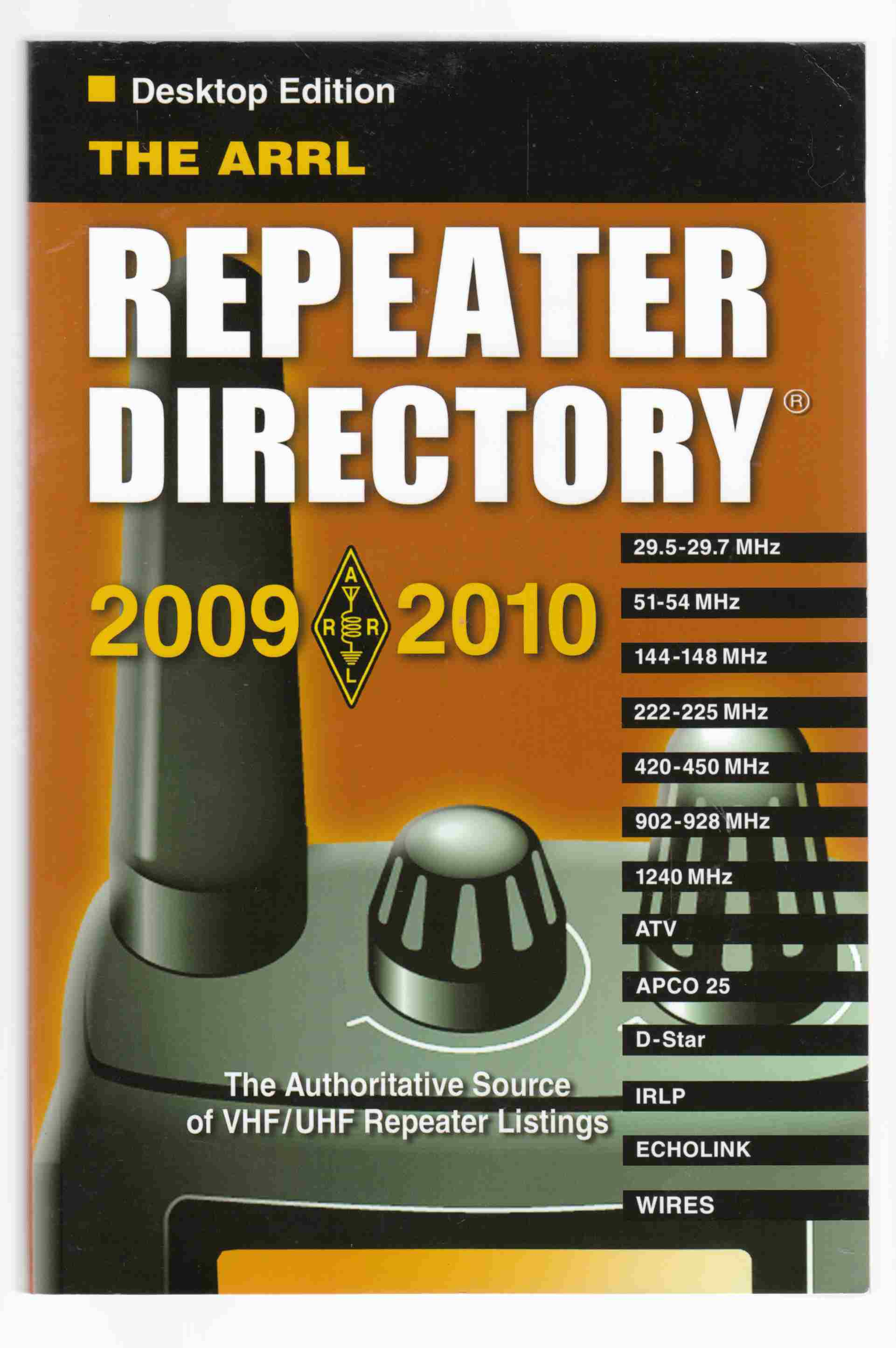 Image for The ARRL Repeater Directory 2009-2010 Desktop Edition