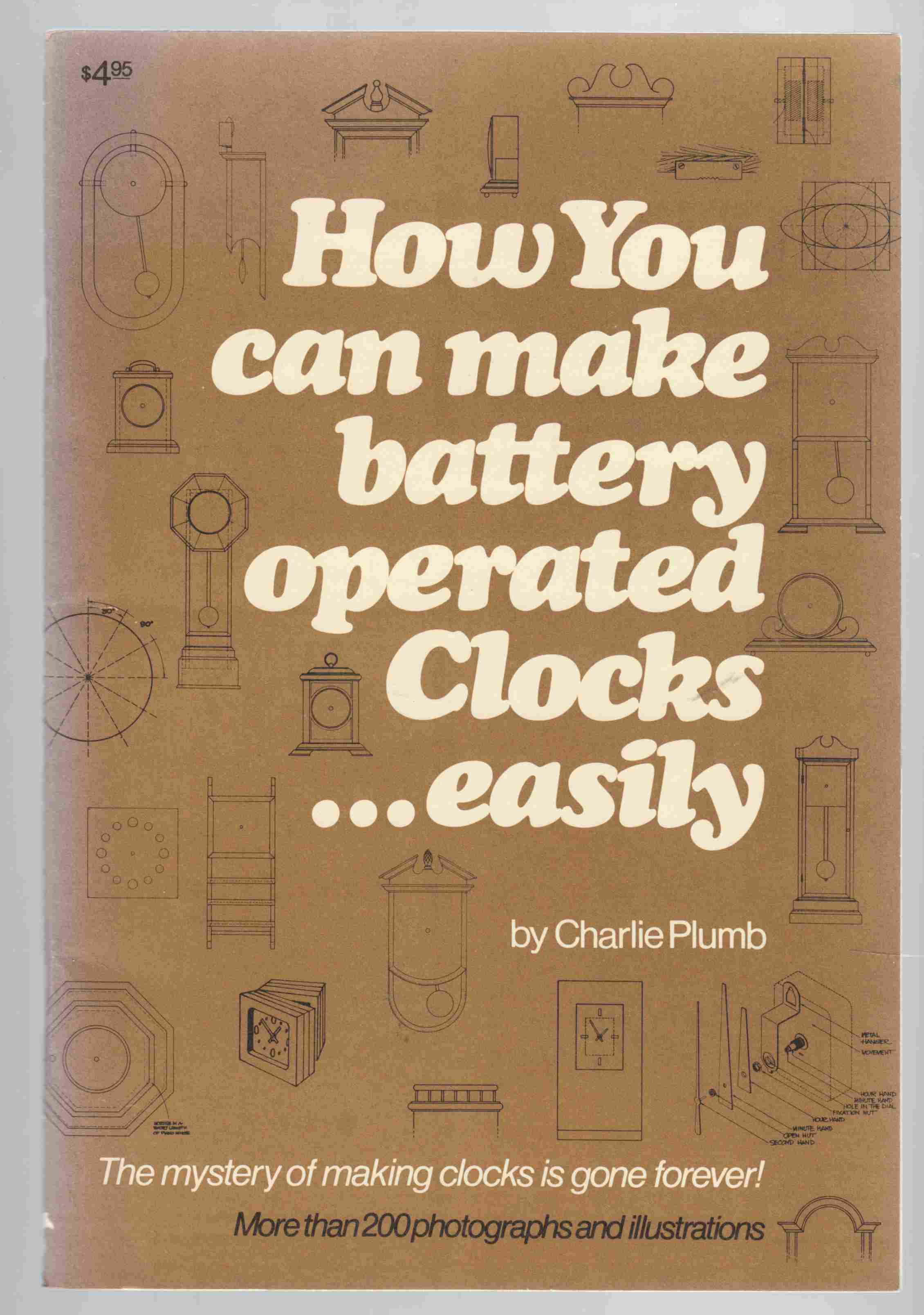 Image for How You Can Make Battery Operated Clocks ... Easily