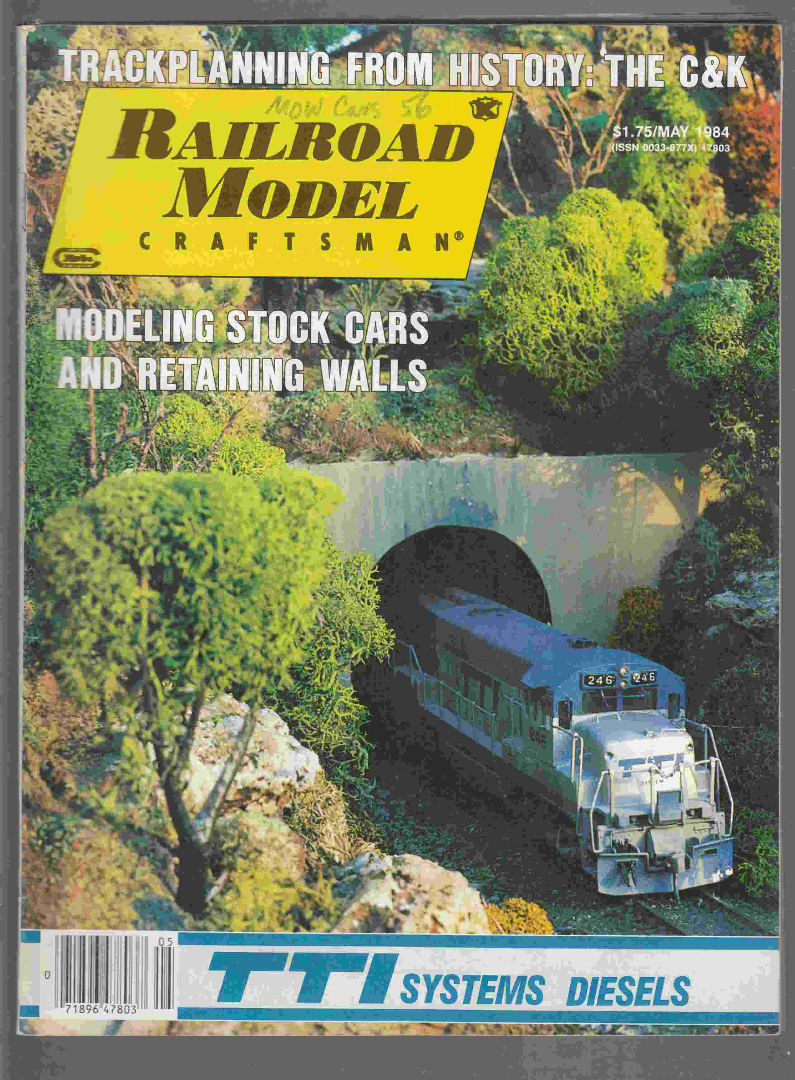 Image for Model Railroad Craftsman May 1984 Volume 52 Number 12