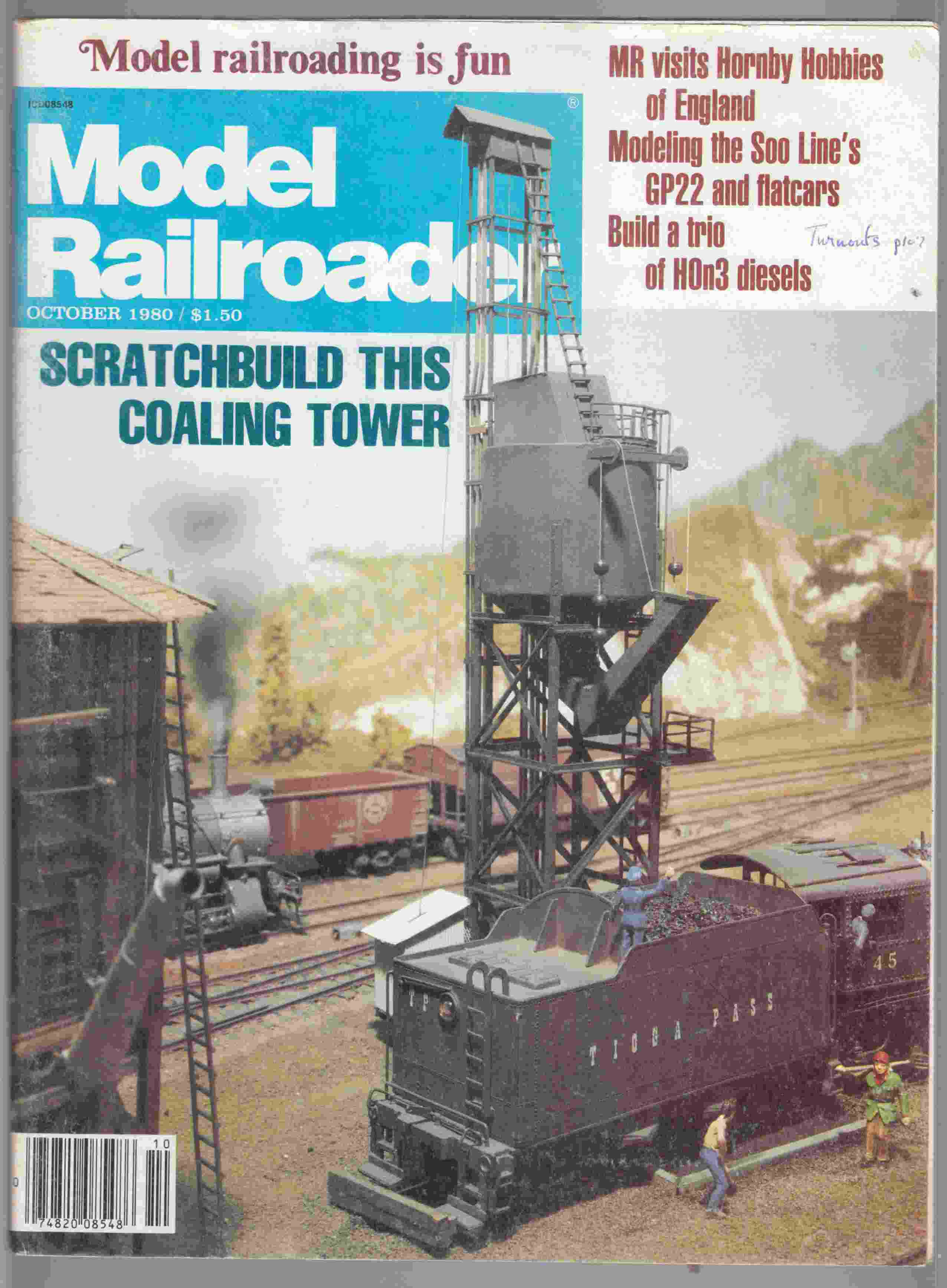 Image for Model Railroader October 1980 Volume 47 Number 10
